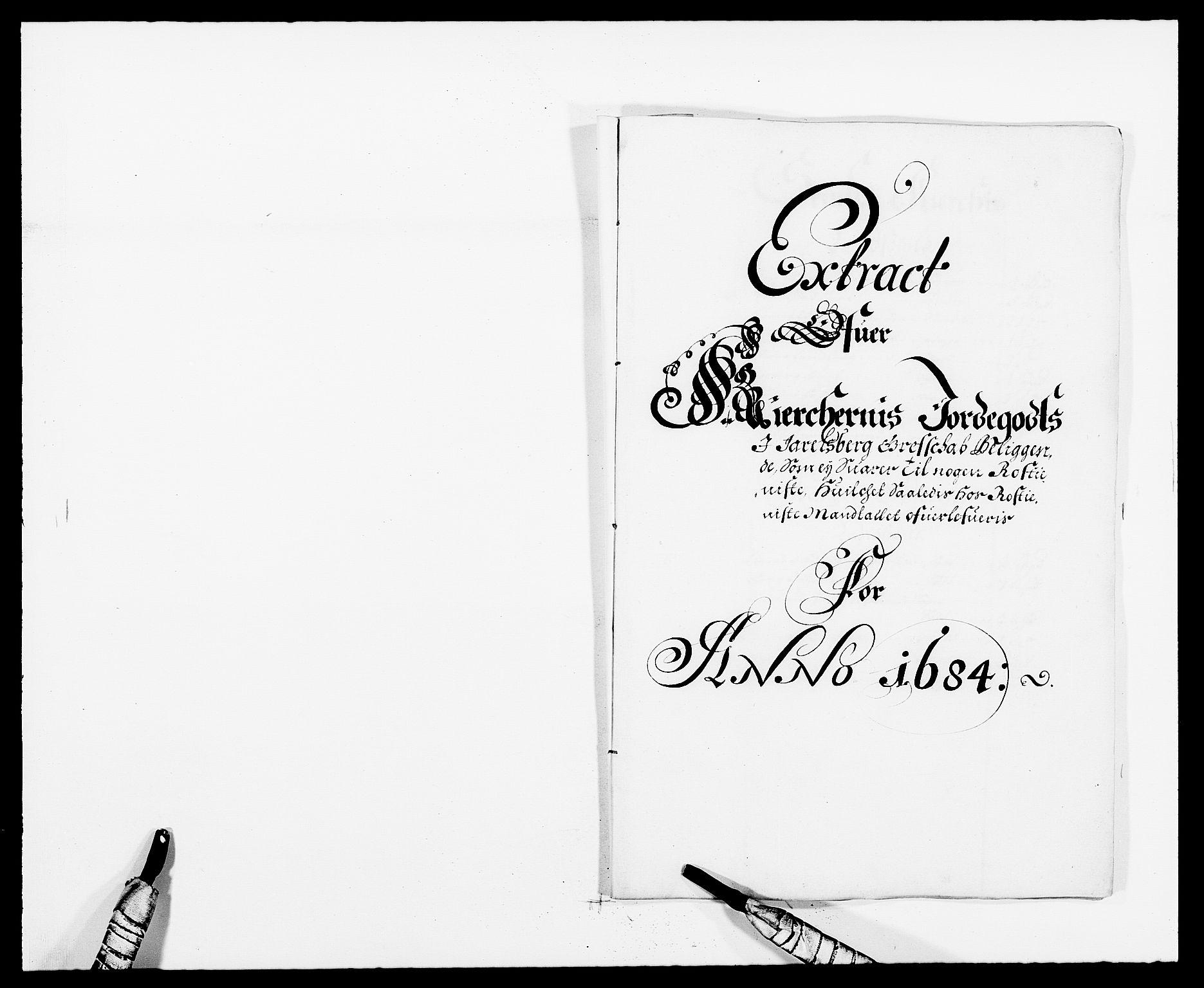 RA, Rentekammeret inntil 1814, Reviderte regnskaper, Fogderegnskap, R32/L1855: Fogderegnskap Jarlsberg grevskap, 1684, s. 105