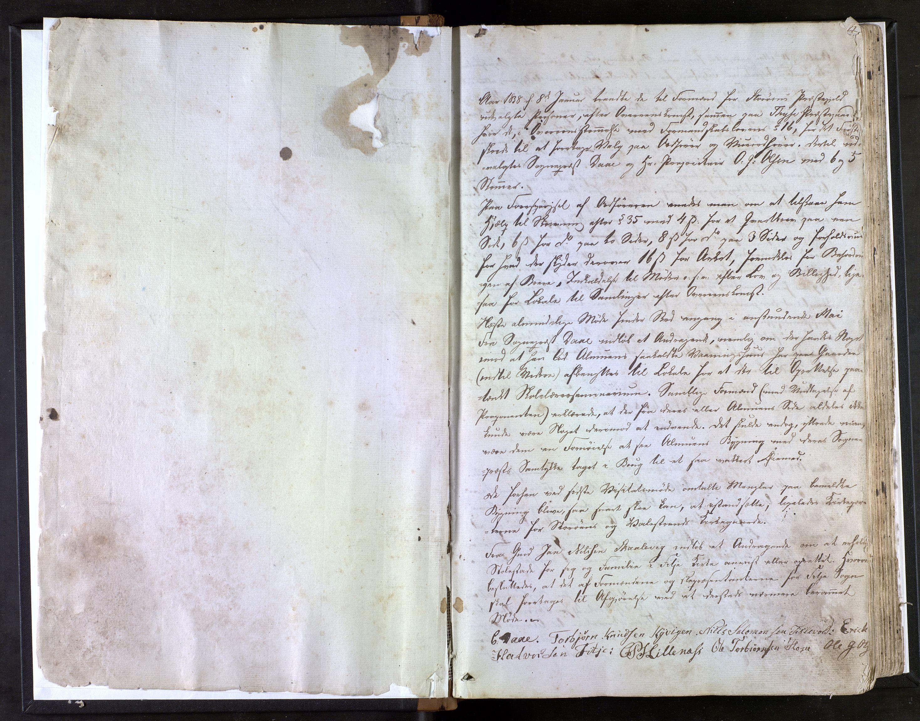 IKAH, Stord kommune. Formannskapet, A/Aa/L0001: Møtebok for formannskapet og heradstyret, 1838-1867, s. 2
