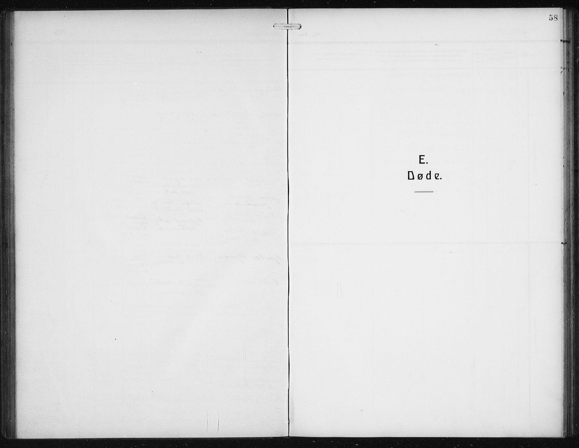 SAB, Den Norske Sjømannsmisjon i utlandet*, Ministerialbok nr. A 1, 1912-1931, s. 58