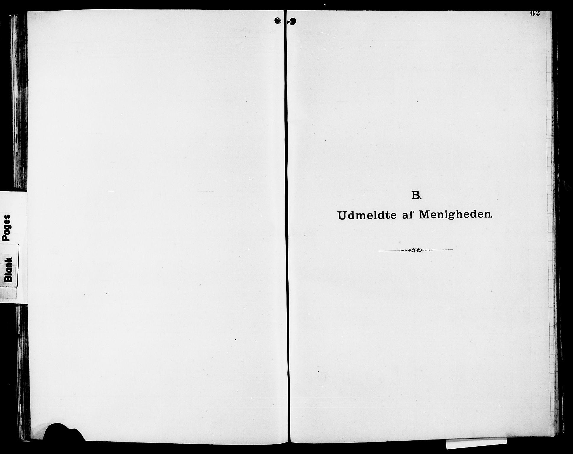 SAST, Pa 0160 - Vennenes Samfunn, Stavanger, F/Fb/L0001: Dissenterprotokoll nr. 1, 1860-1897, s. 62