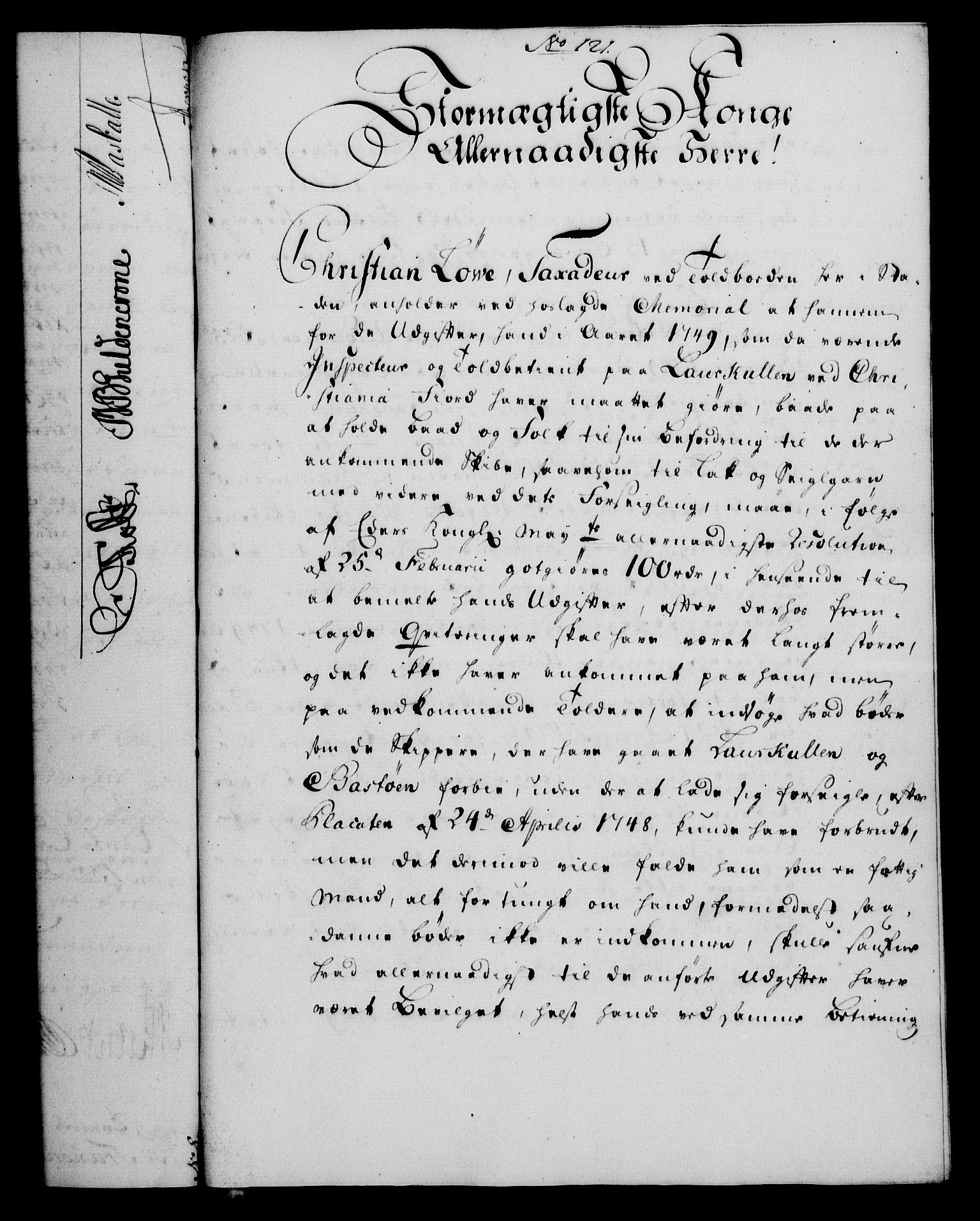 RA, Rentekammeret, Kammerkanselliet, G/Gf/Gfa/L0033: Norsk relasjons- og resolusjonsprotokoll (merket RK 52.33), 1751, s. 568