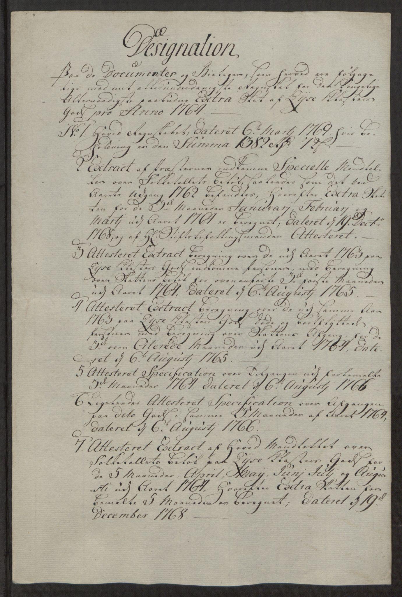 RA, Rentekammeret inntil 1814, Reviderte regnskaper, Fogderegnskap, R50/L3180: Ekstraskatten Lyse kloster, 1762-1783, s. 90