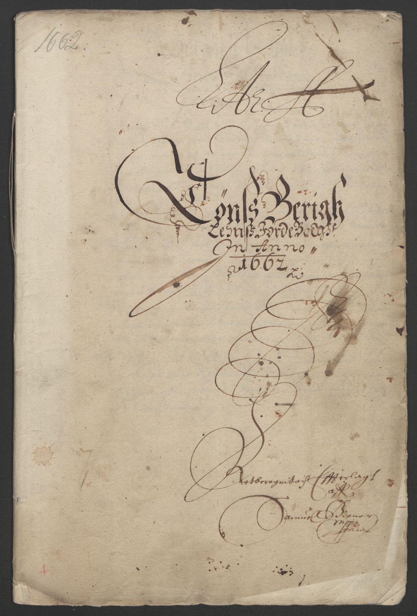 RA, Rentekammeret inntil 1814, Reviderte regnskaper, Fogderegnskap, R32/L1838: Fogderegnskap Jarlsberg grevskap, 1661-1663, s. 151