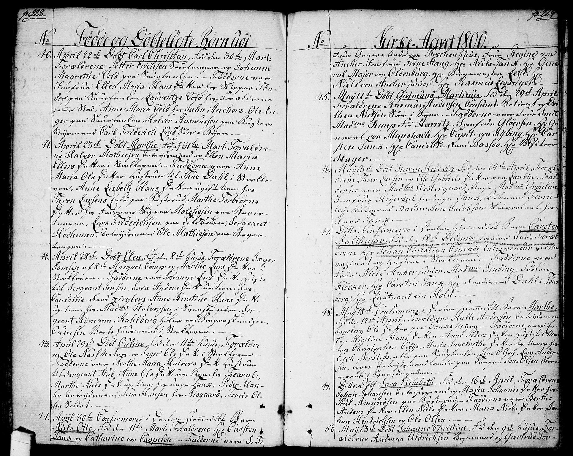SAO, Halden prestekontor Kirkebøker, F/Fa/L0002: Ministerialbok nr. I 2, 1792-1812, s. 228-229