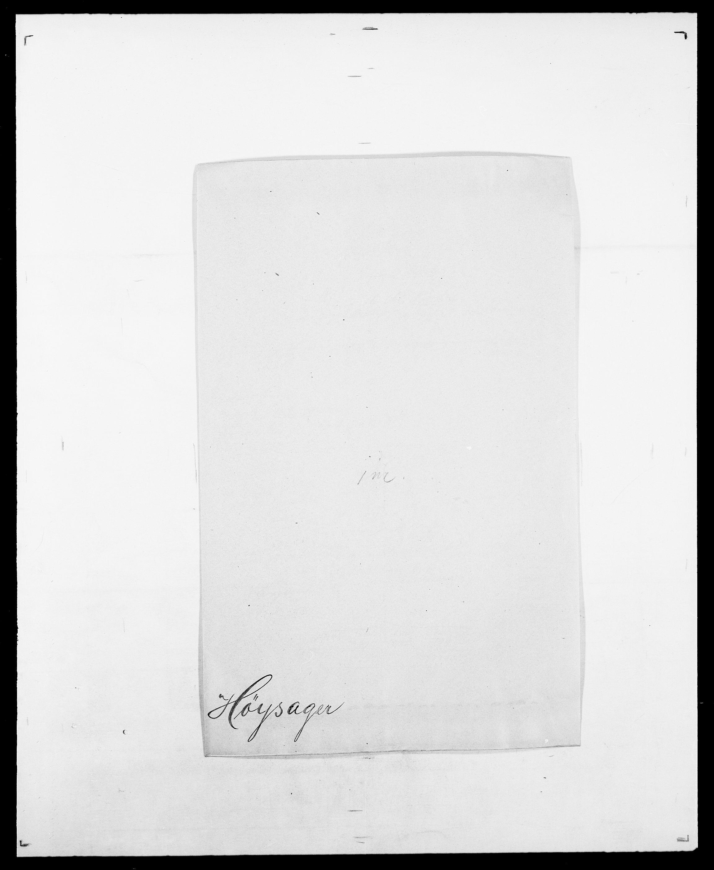 SAO, Delgobe, Charles Antoine - samling, D/Da/L0019: van der Hude - Joys, s. 465