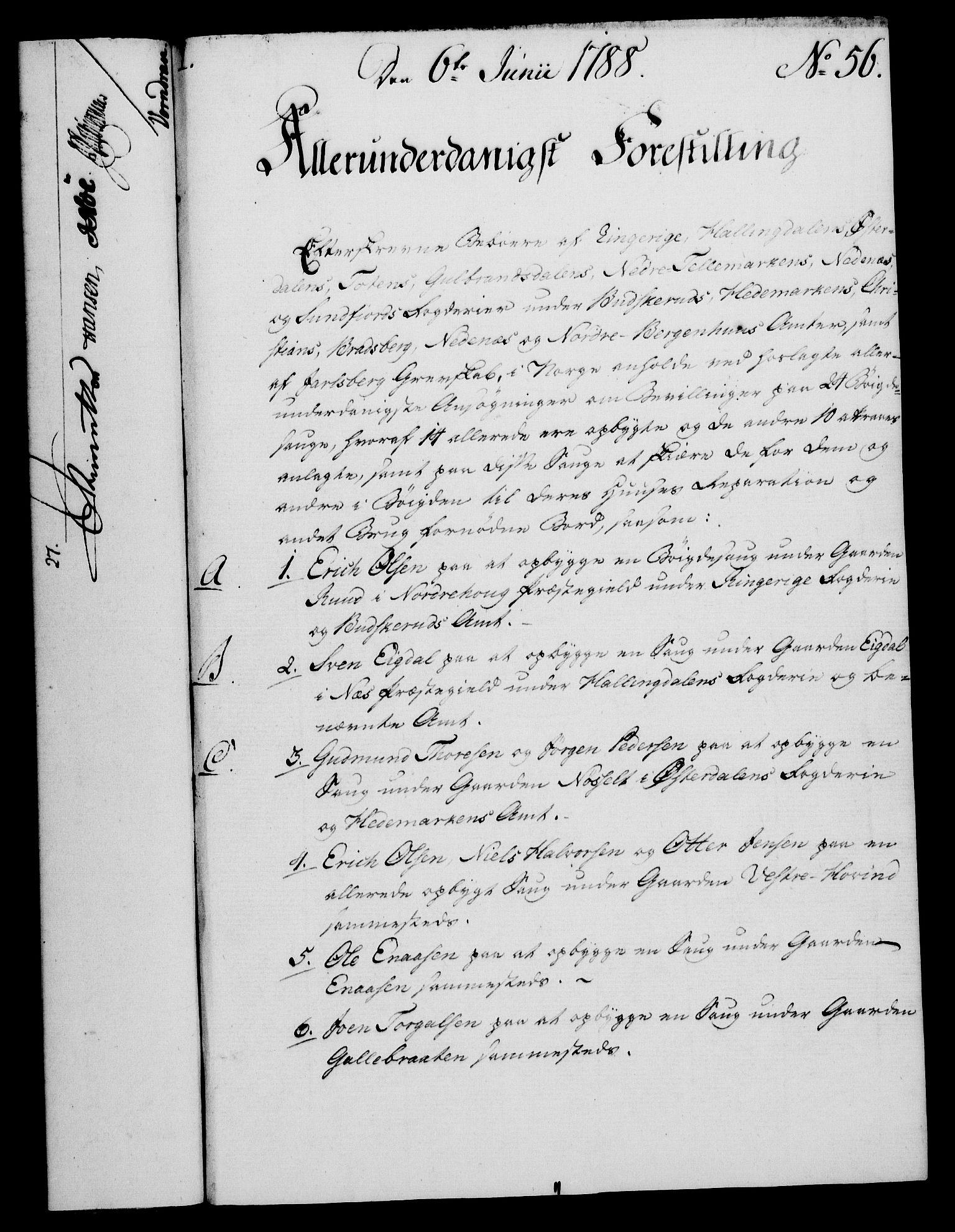 RA, Rentekammeret, Kammerkanselliet, G/Gf/Gfa/L0070: Norsk relasjons- og resolusjonsprotokoll (merket RK 52.70), 1788, s. 368