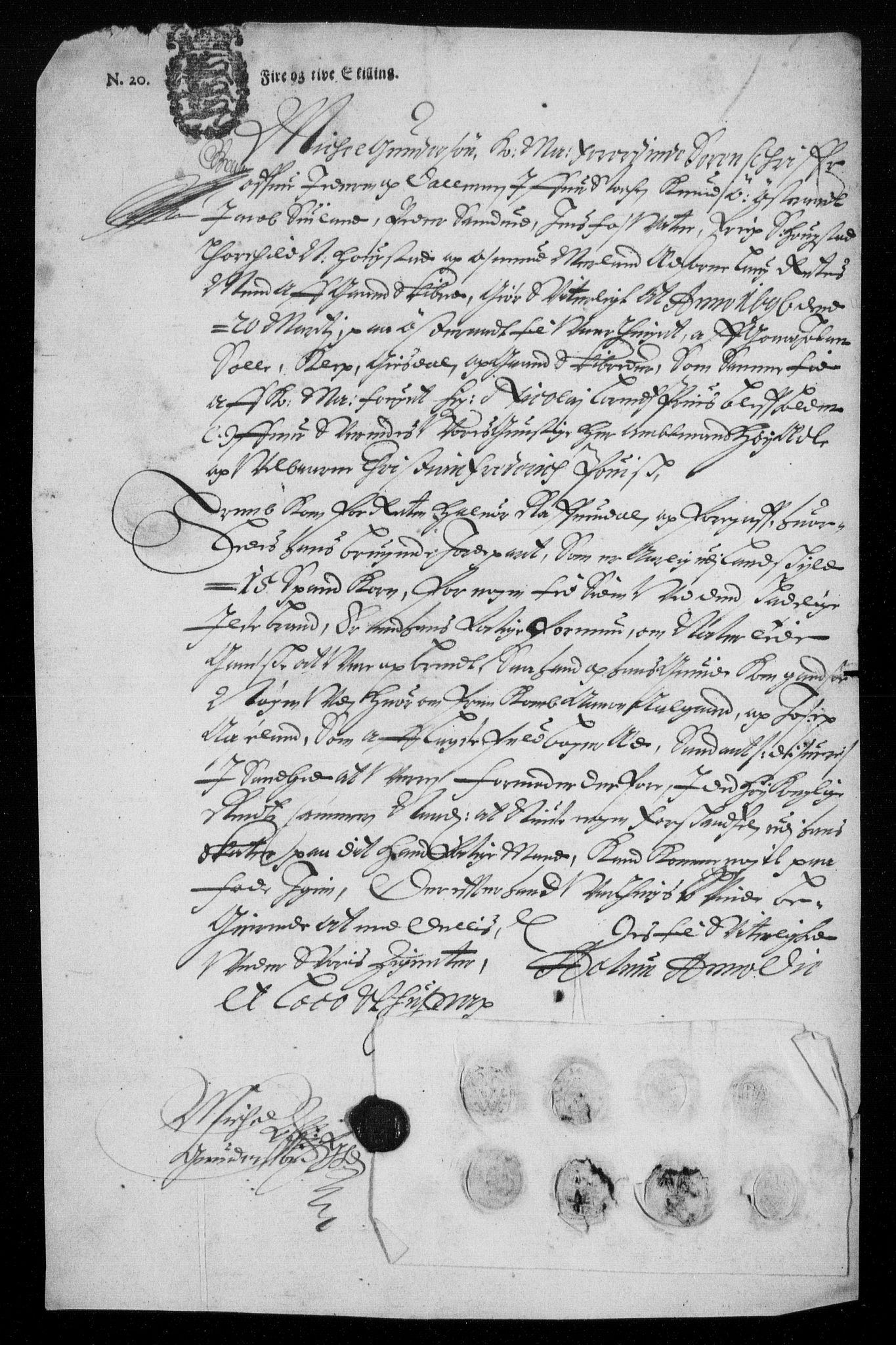 RA, Rentekammeret inntil 1814, Reviderte regnskaper, Fogderegnskap, R46/L2728: Fogderegnskap Jæren og Dalane, 1694-1696, s. 514