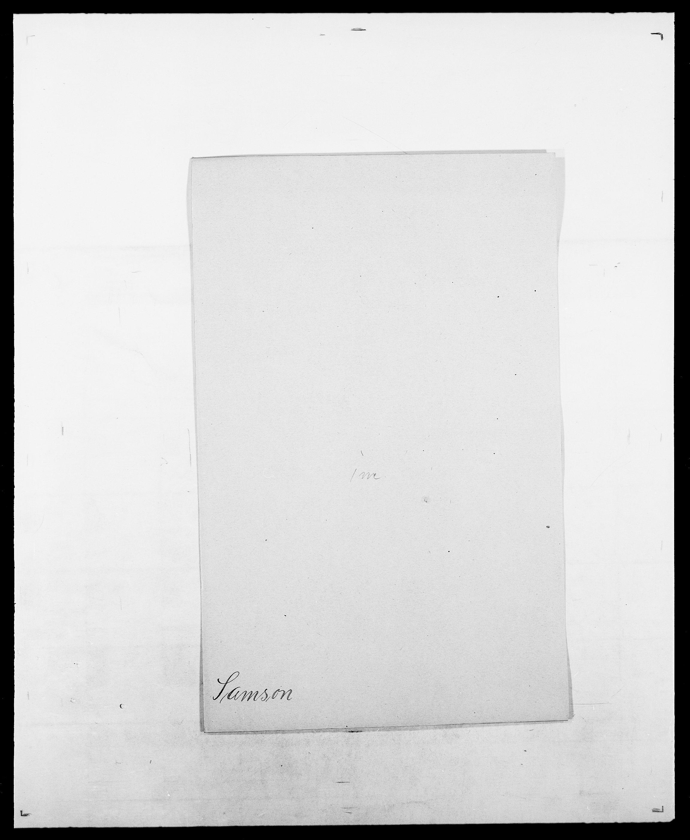 SAO, Delgobe, Charles Antoine - samling, D/Da/L0034: Saabye - Schmincke, s. 92