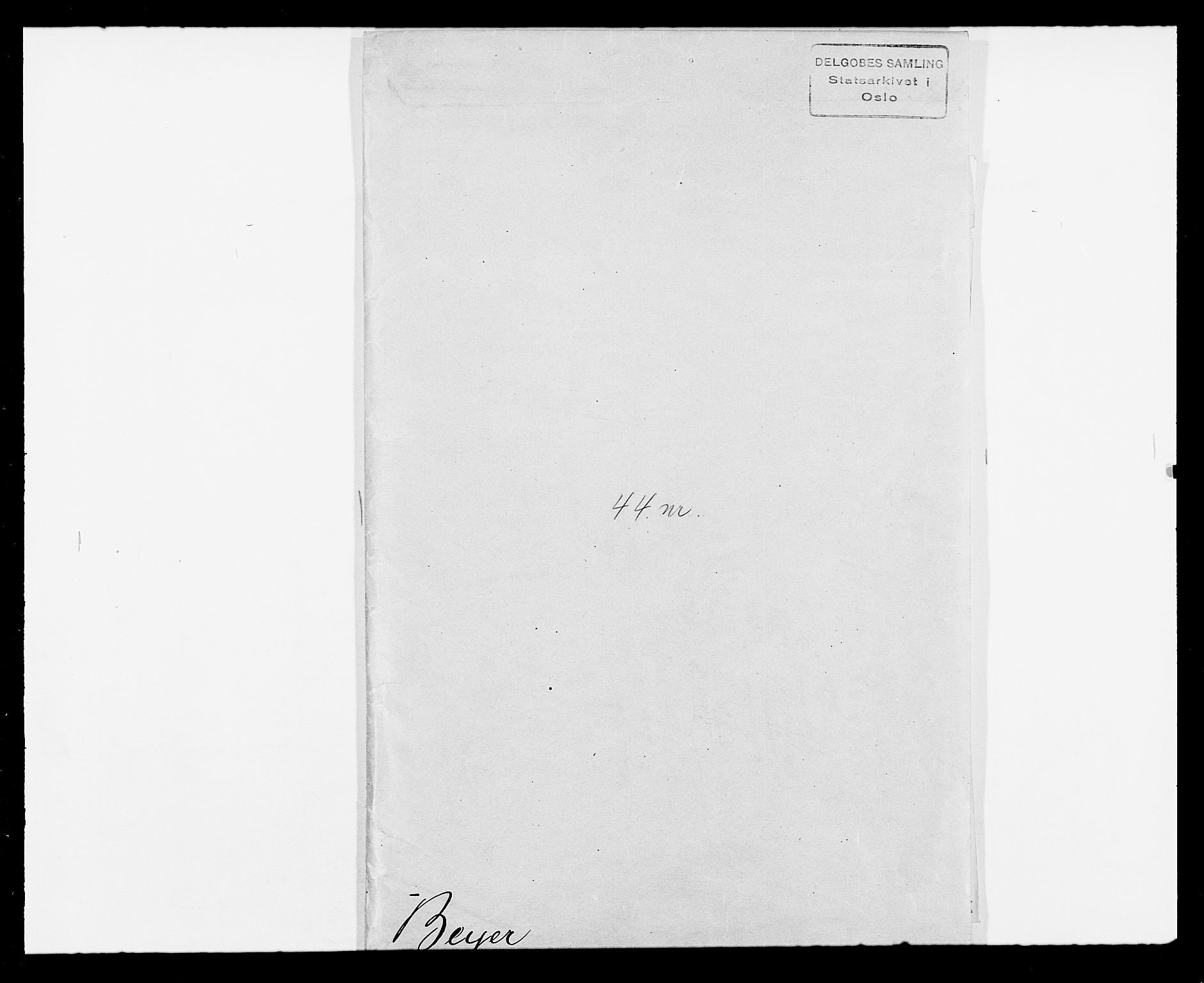 SAO, Delgobe, Charles Antoine - samling, D/Db/L0001: Tilleggspakke, s. 146