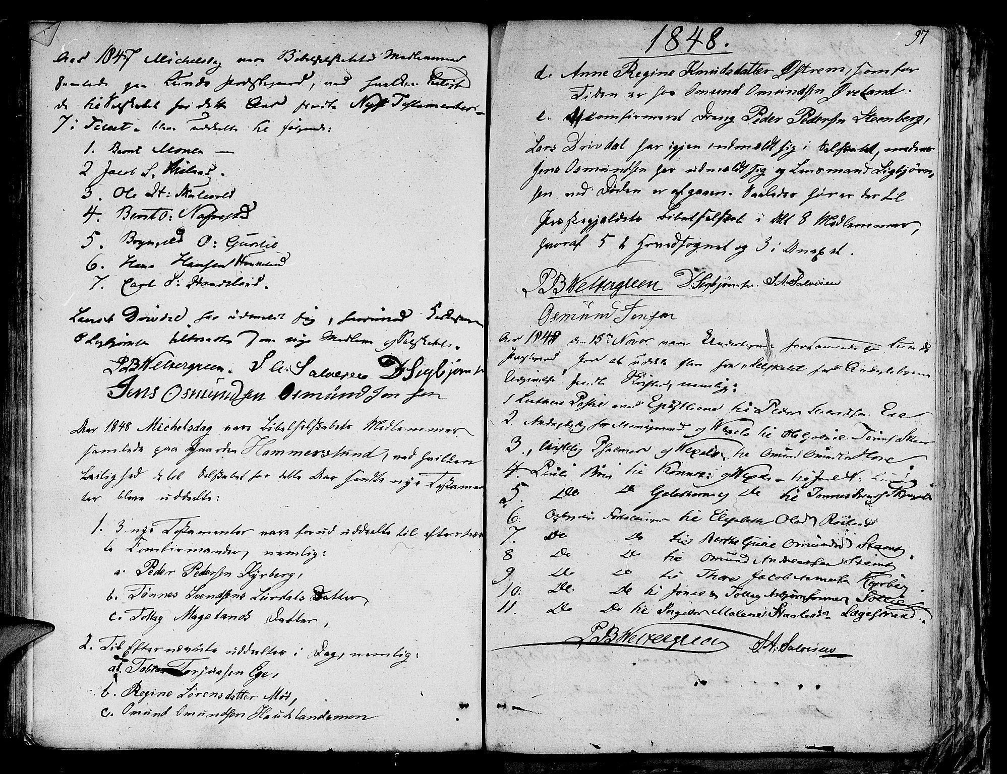 SAST, Lund sokneprestkontor, Ministerialbok nr. A 4 /1, 1801-1864, s. 97