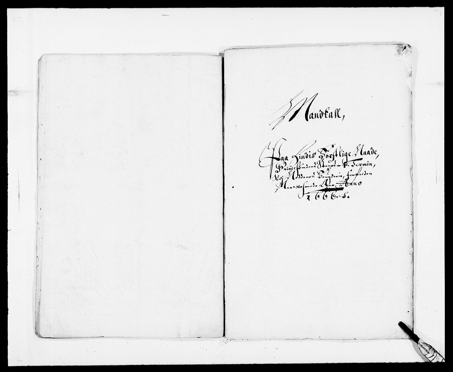 RA, Rentekammeret inntil 1814, Reviderte regnskaper, Fogderegnskap, R39/L2296: Fogderegnskap Nedenes, 1664-1666, s. 409