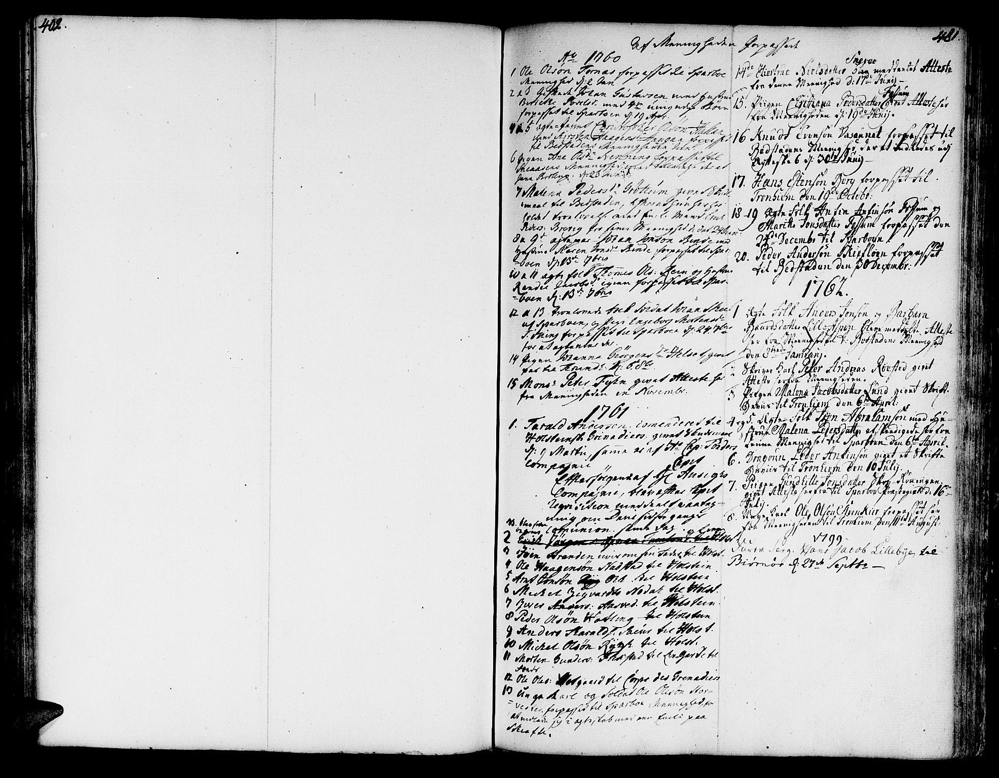 SAT, Ministerialprotokoller, klokkerbøker og fødselsregistre - Nord-Trøndelag, 746/L0440: Ministerialbok nr. 746A02, 1760-1815, s. 402-481