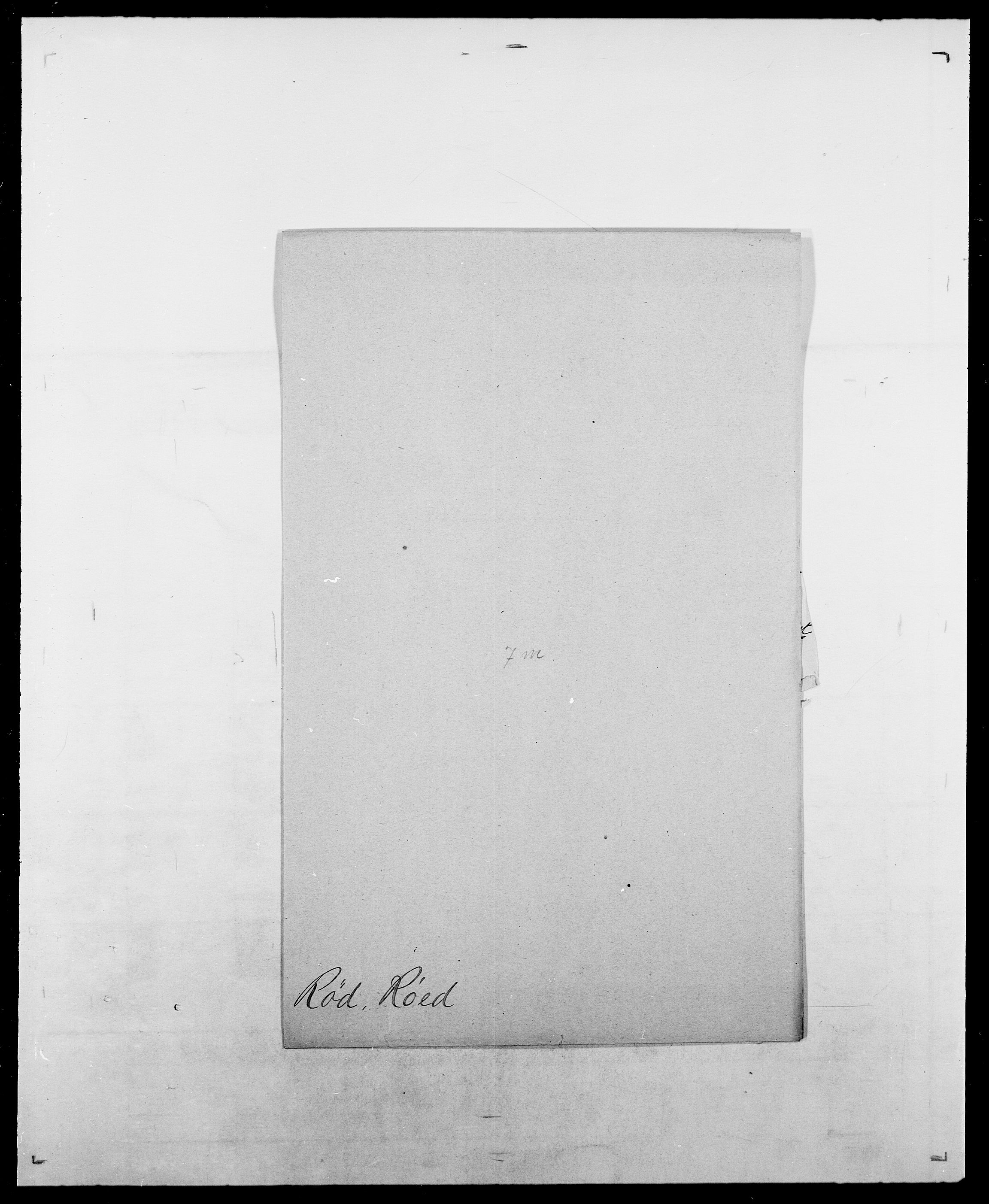 SAO, Delgobe, Charles Antoine - samling, D/Da/L0033: Roald - Røyem, s. 644