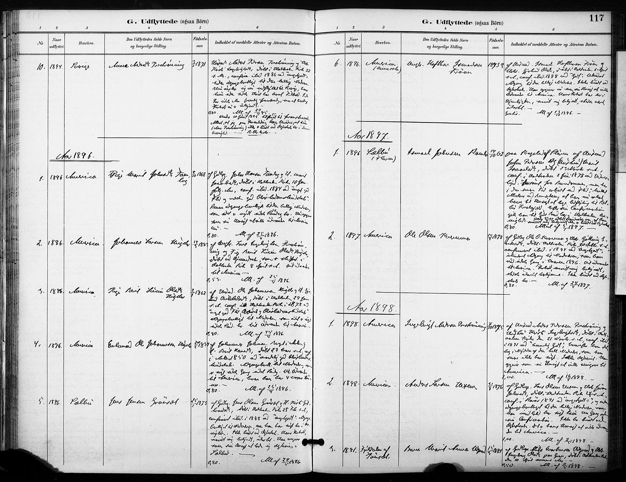 SAT, Ministerialprotokoller, klokkerbøker og fødselsregistre - Sør-Trøndelag, 685/L0973: Ministerialbok nr. 685A10, 1891-1907, s. 117