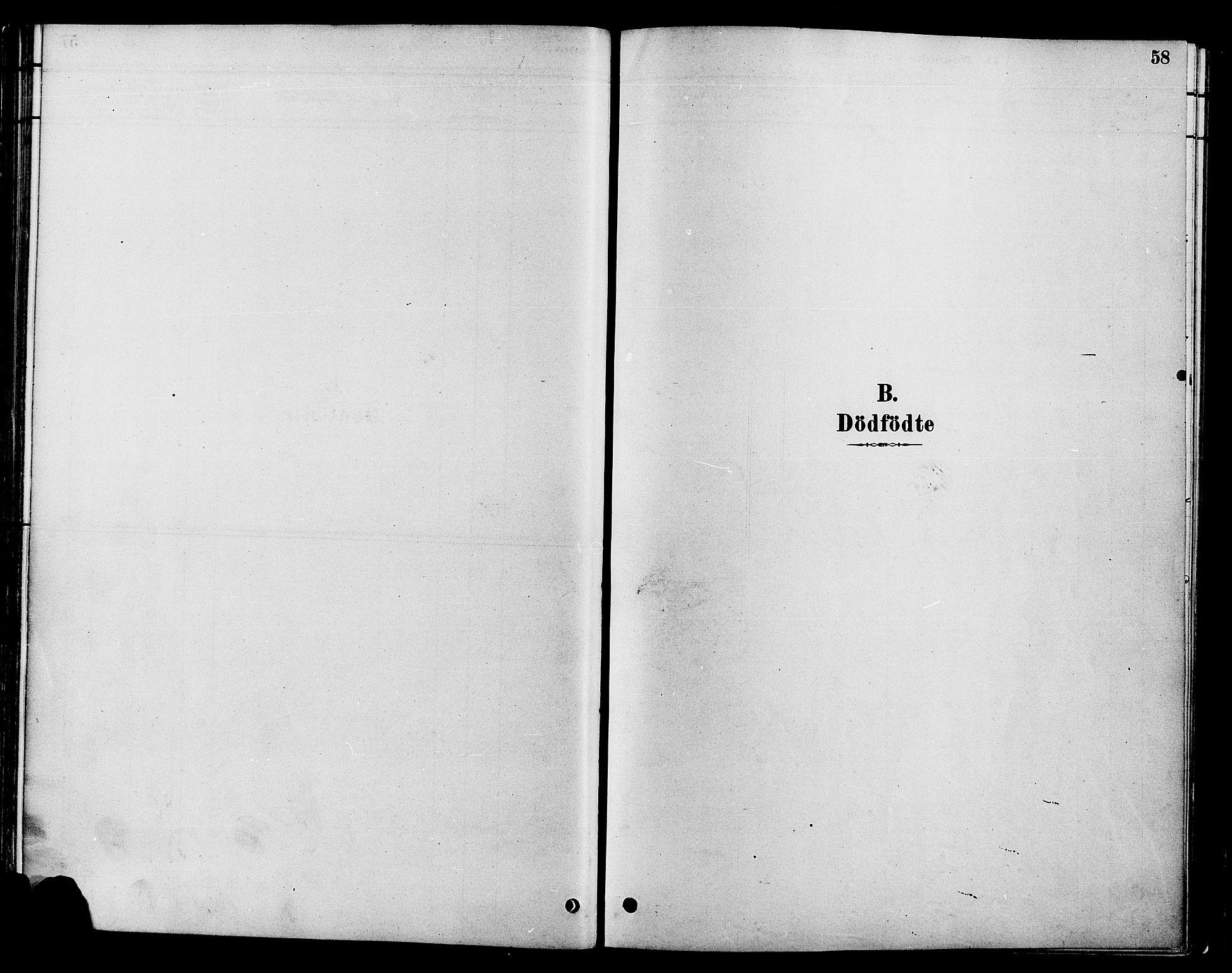 SAH, Gran prestekontor, Ministerialbok nr. 16, 1880-1888, s. 58