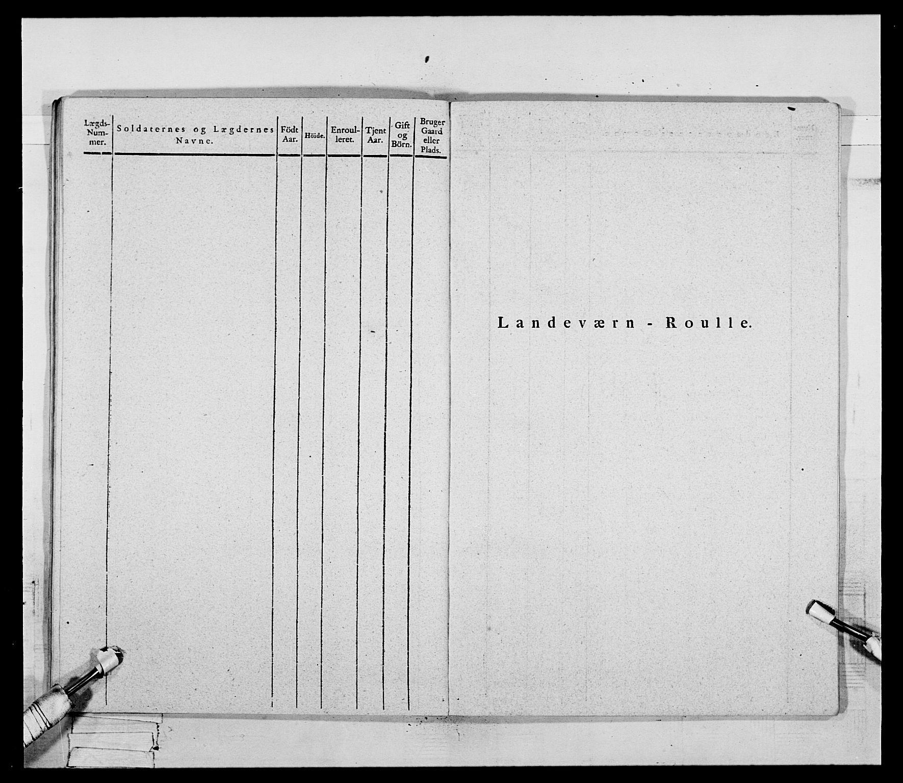 RA, Generalitets- og kommissariatskollegiet, Det kongelige norske kommissariatskollegium, E/Eh/L0069: Opplandske gevorbne infanteriregiment, 1810-1818, s. 498