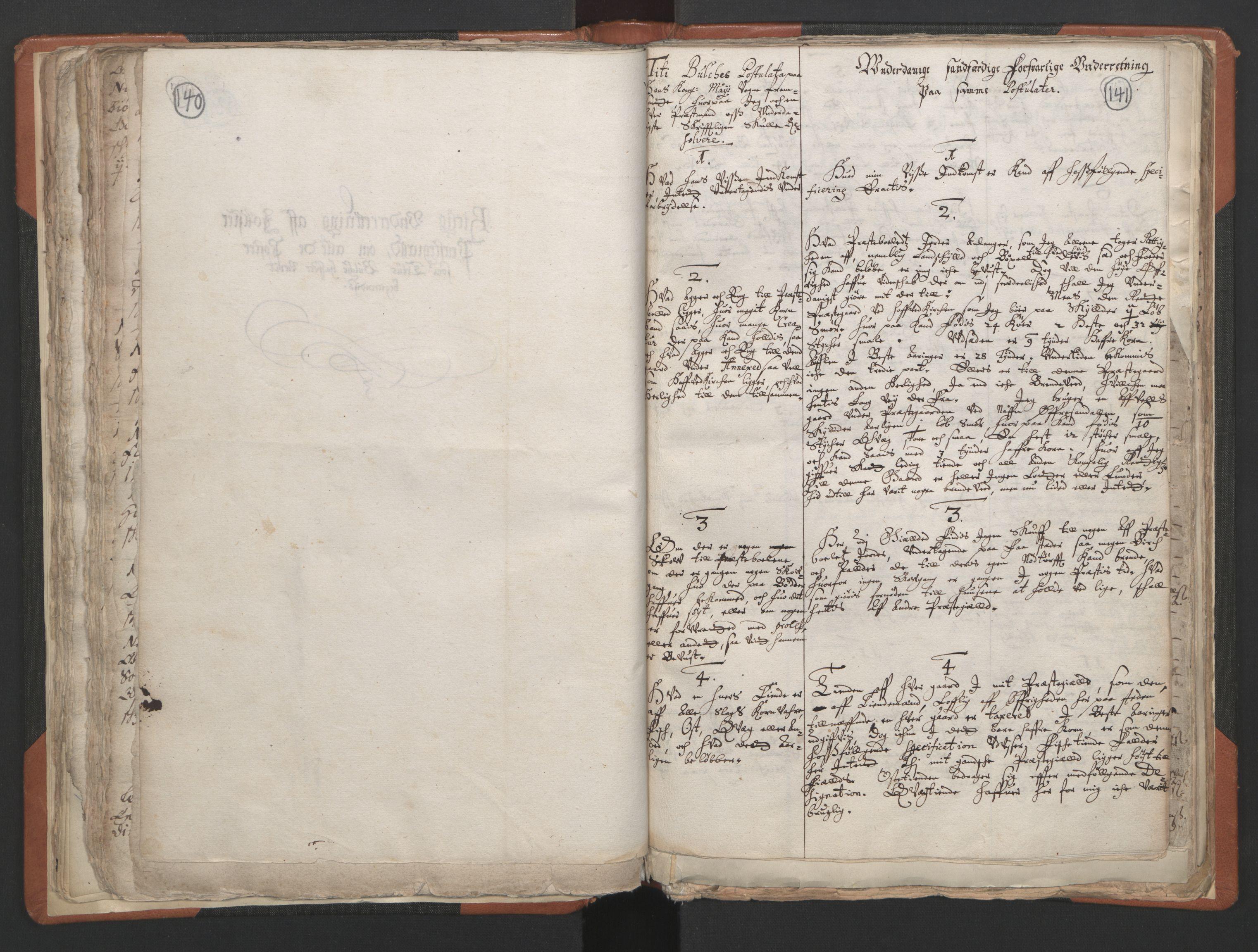 RA, Sogneprestenes manntall 1664-1666, nr. 24: Sunnfjord prosti, 1664-1666, s. 140-141