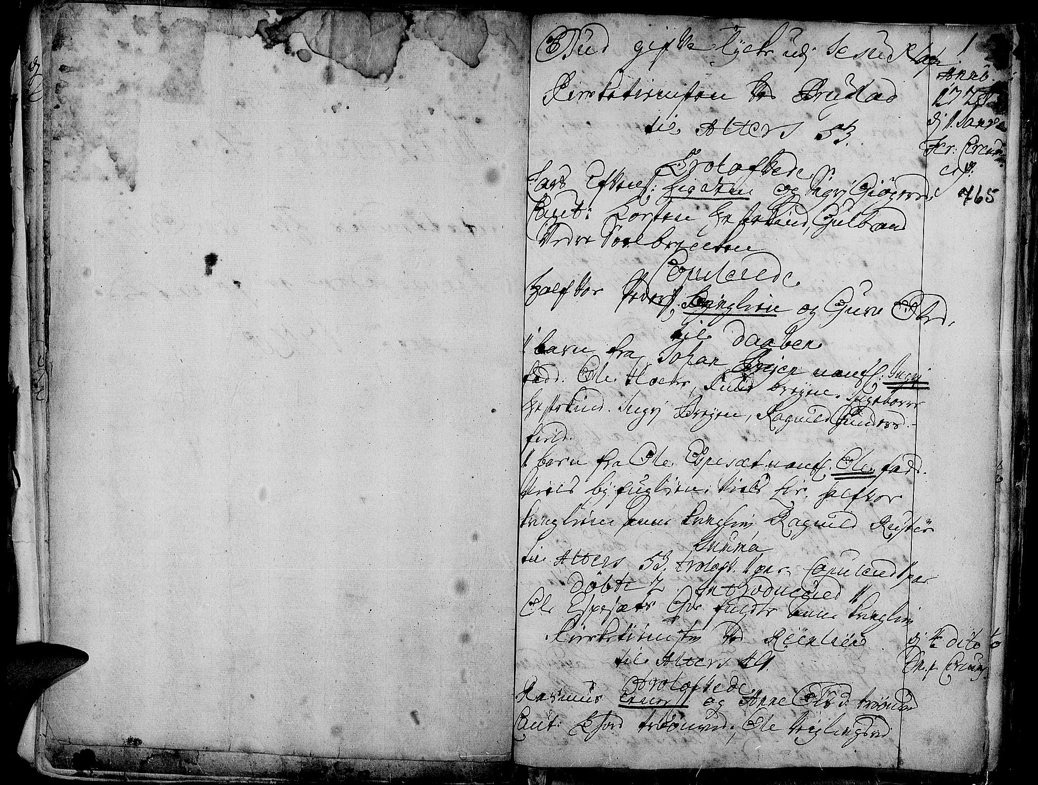 SAH, Aurdal prestekontor, Ministerialbok nr. 1-3, 1692-1730, s. 765