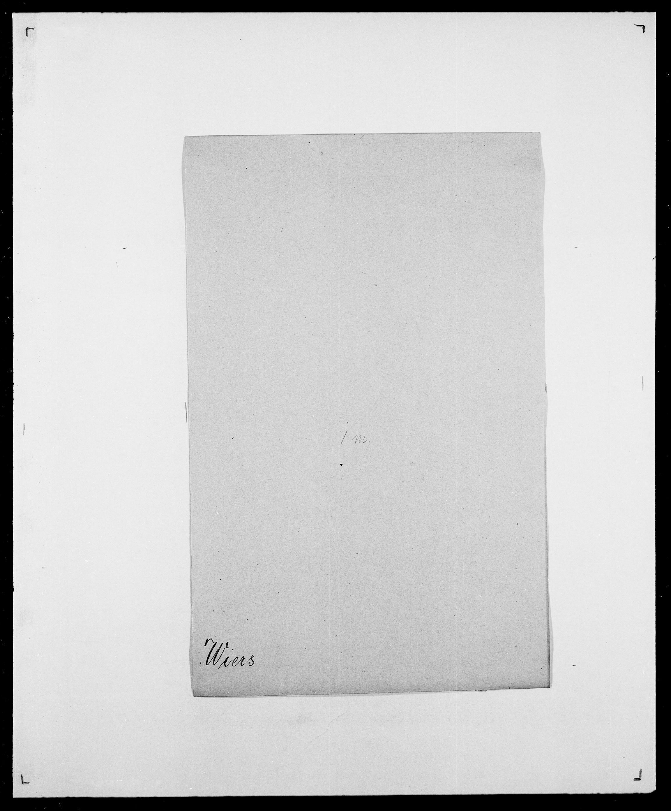 SAO, Delgobe, Charles Antoine - samling, D/Da/L0041: Vemmestad - Viker, s. 508