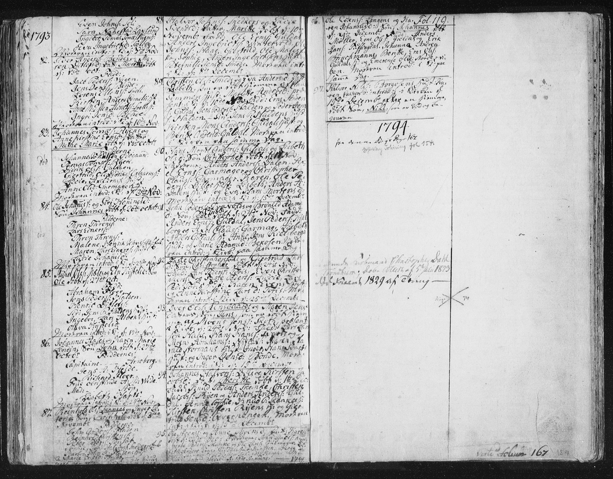 SAT, Ministerialprotokoller, klokkerbøker og fødselsregistre - Sør-Trøndelag, 681/L0926: Ministerialbok nr. 681A04, 1767-1797, s. 119