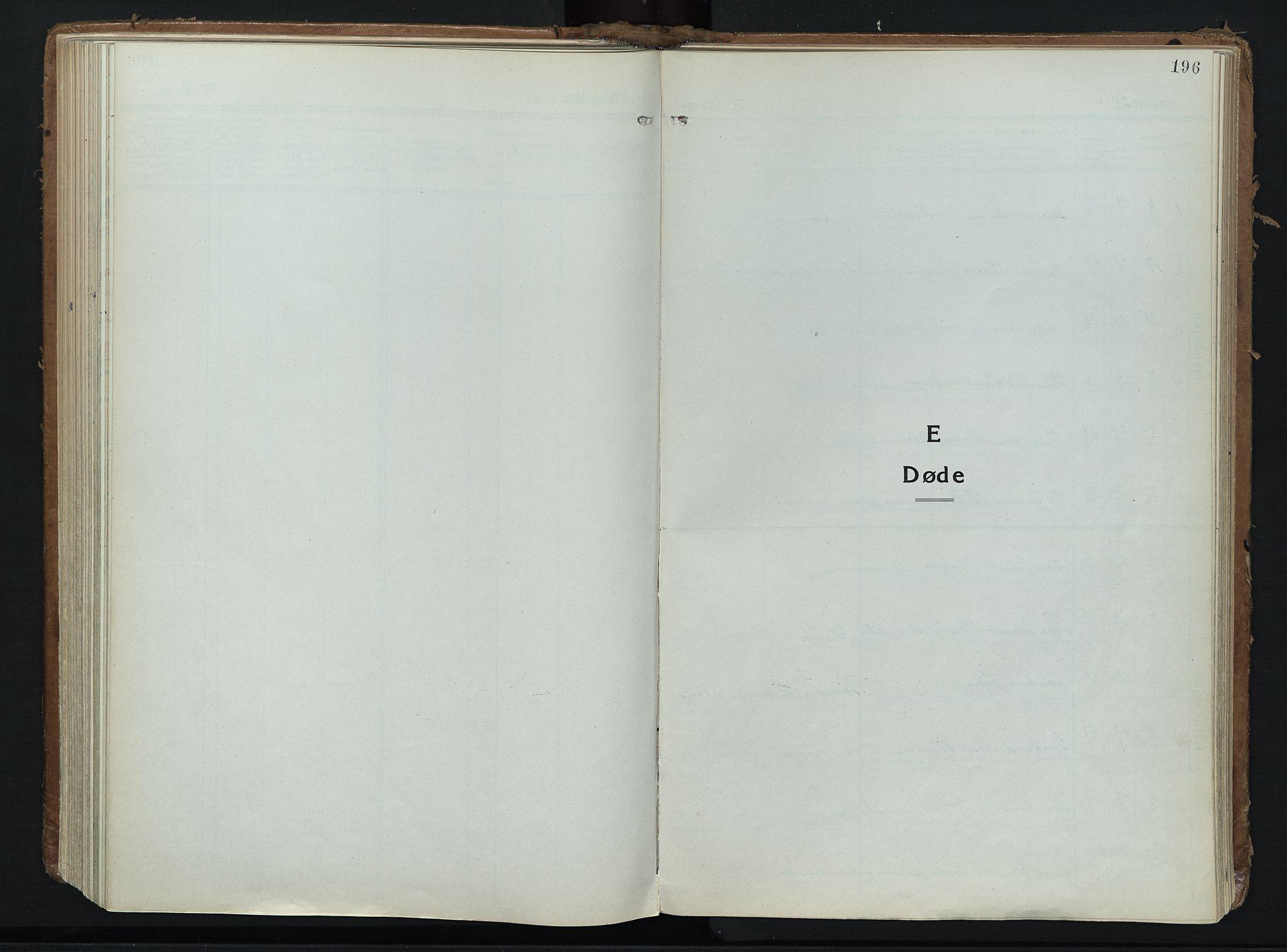 SAH, Alvdal prestekontor, Ministerialbok nr. 6, 1920-1937, s. 196