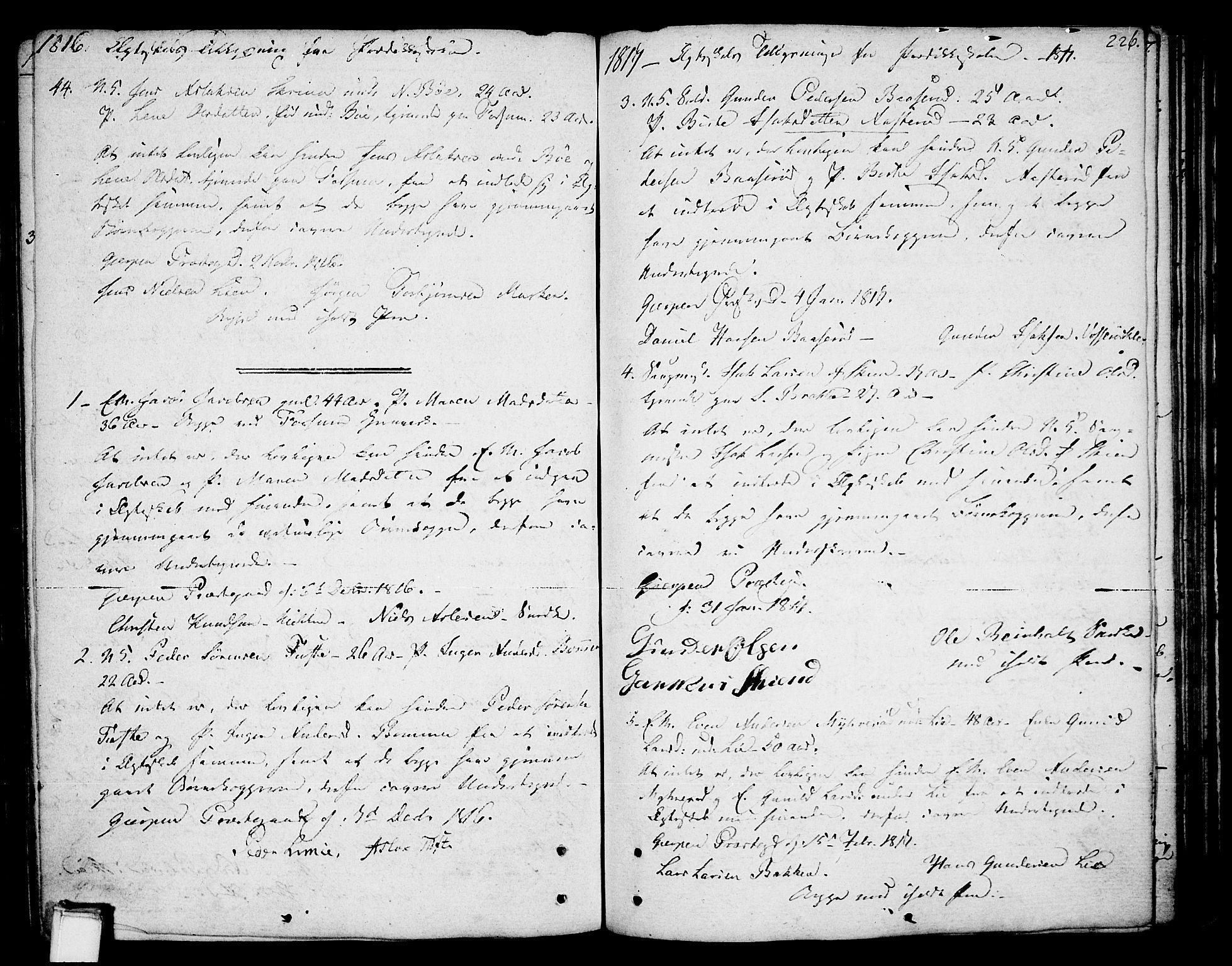 SAKO, Gjerpen kirkebøker, F/Fa/L0003: Ministerialbok nr. 3, 1796-1814, s. 226