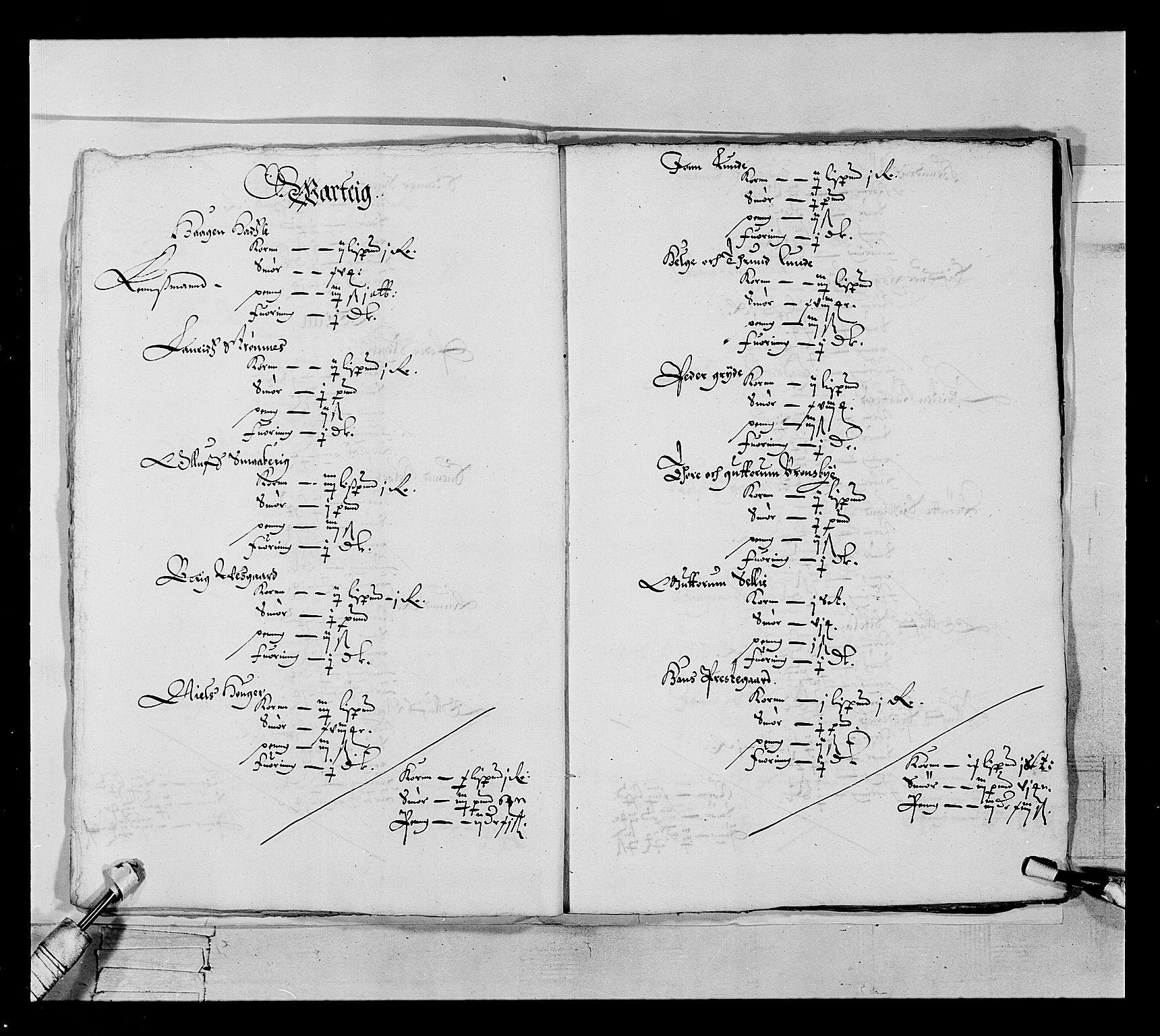 RA, Stattholderembetet 1572-1771, Ek/L0022: Jordebøker 1633-1658:, 1646-1647, s. 17