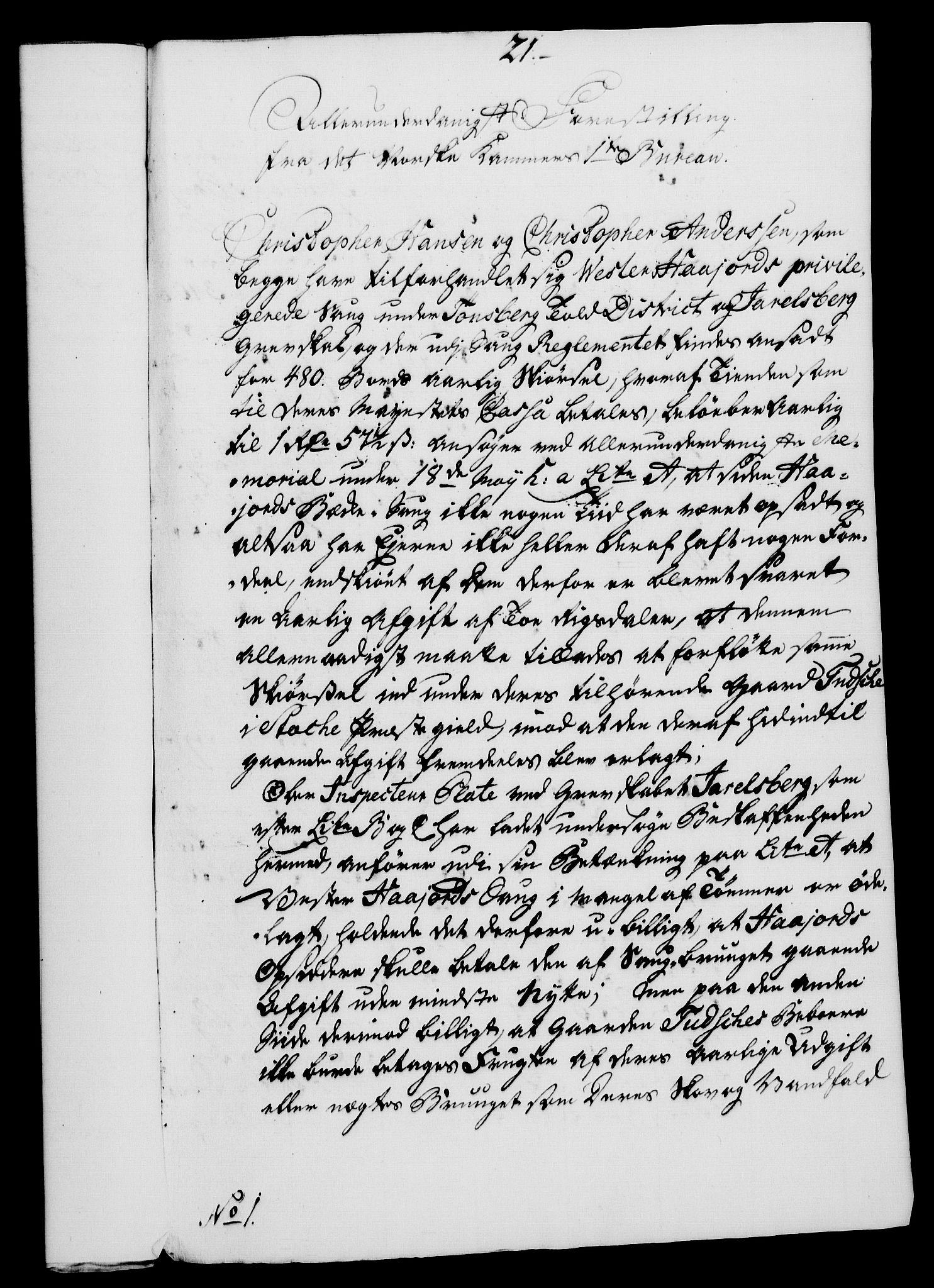 RA, Rentekammeret, Kammerkanselliet, G/Gf/Gfa/L0054: Norsk relasjons- og resolusjonsprotokoll (merket RK 52.54), 1771-1772, s. 75