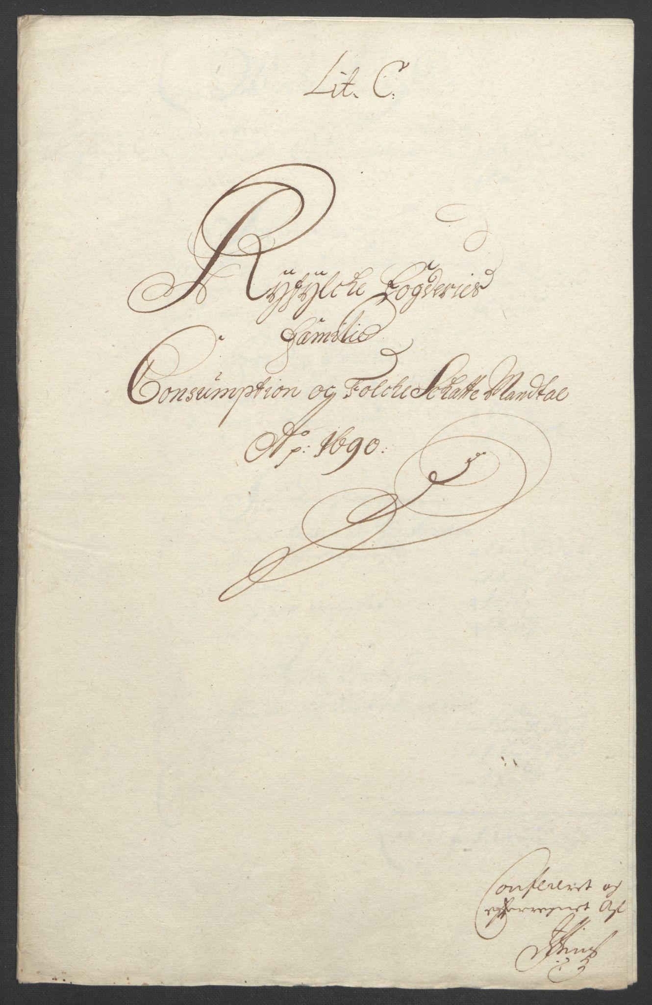 RA, Rentekammeret inntil 1814, Reviderte regnskaper, Fogderegnskap, R47/L2856: Fogderegnskap Ryfylke, 1689-1693, s. 172