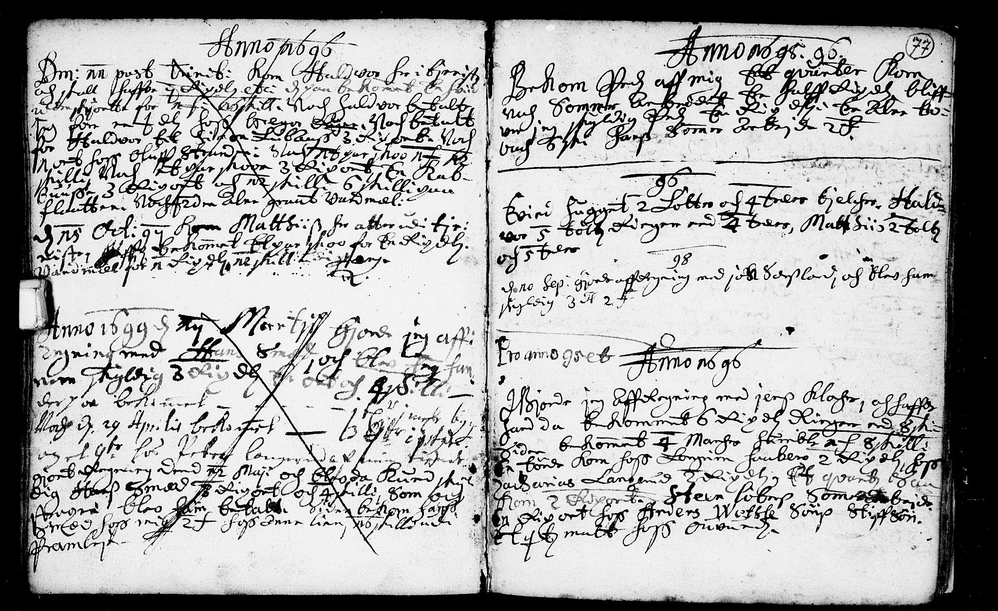 SAKO, Heddal kirkebøker, F/Fa/L0001: Ministerialbok nr. I 1, 1648-1699, s. 77