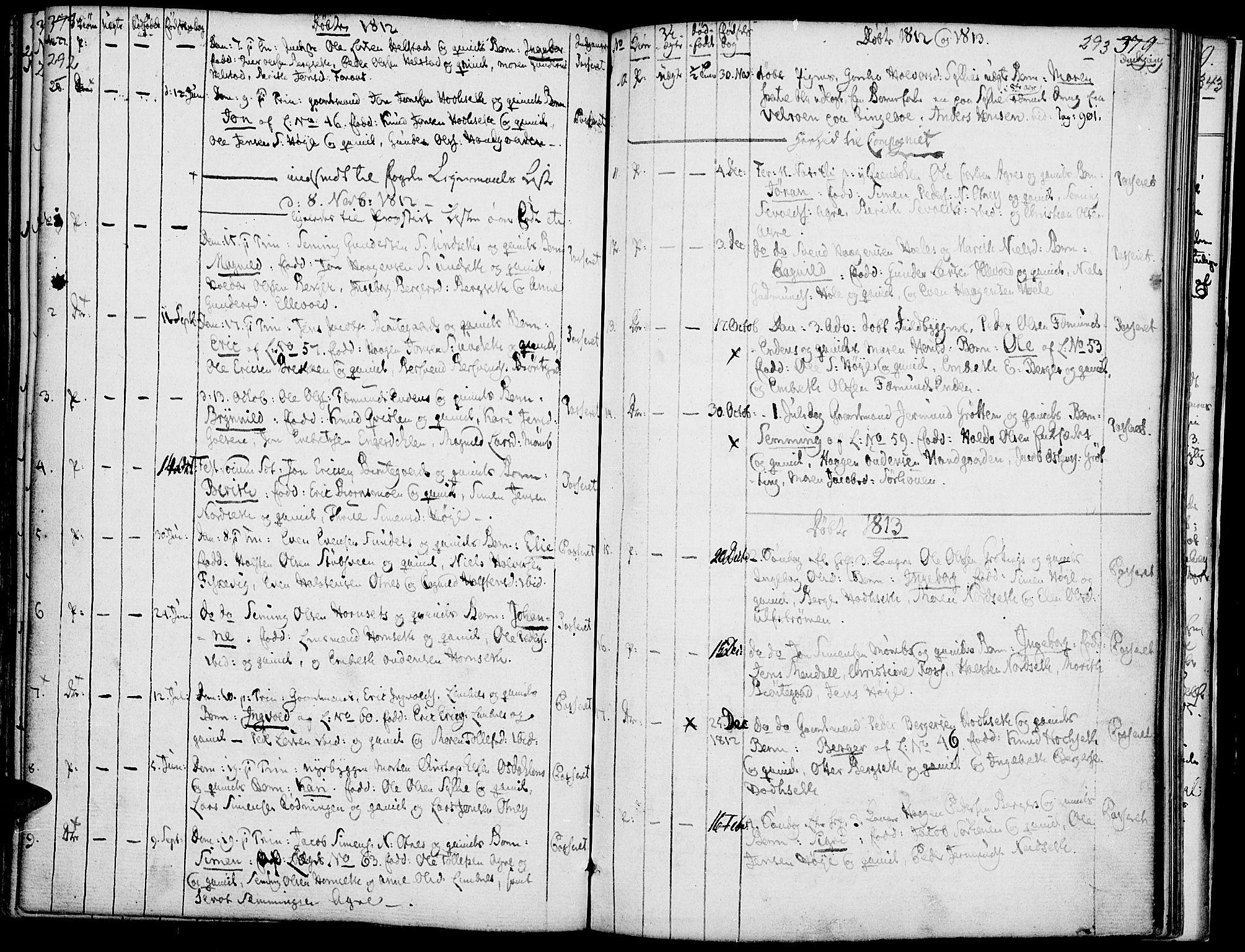 SAH, Rendalen prestekontor, H/Ha/Haa/L0002: Ministerialbok nr. 2, 1788-1814, s. 292-293