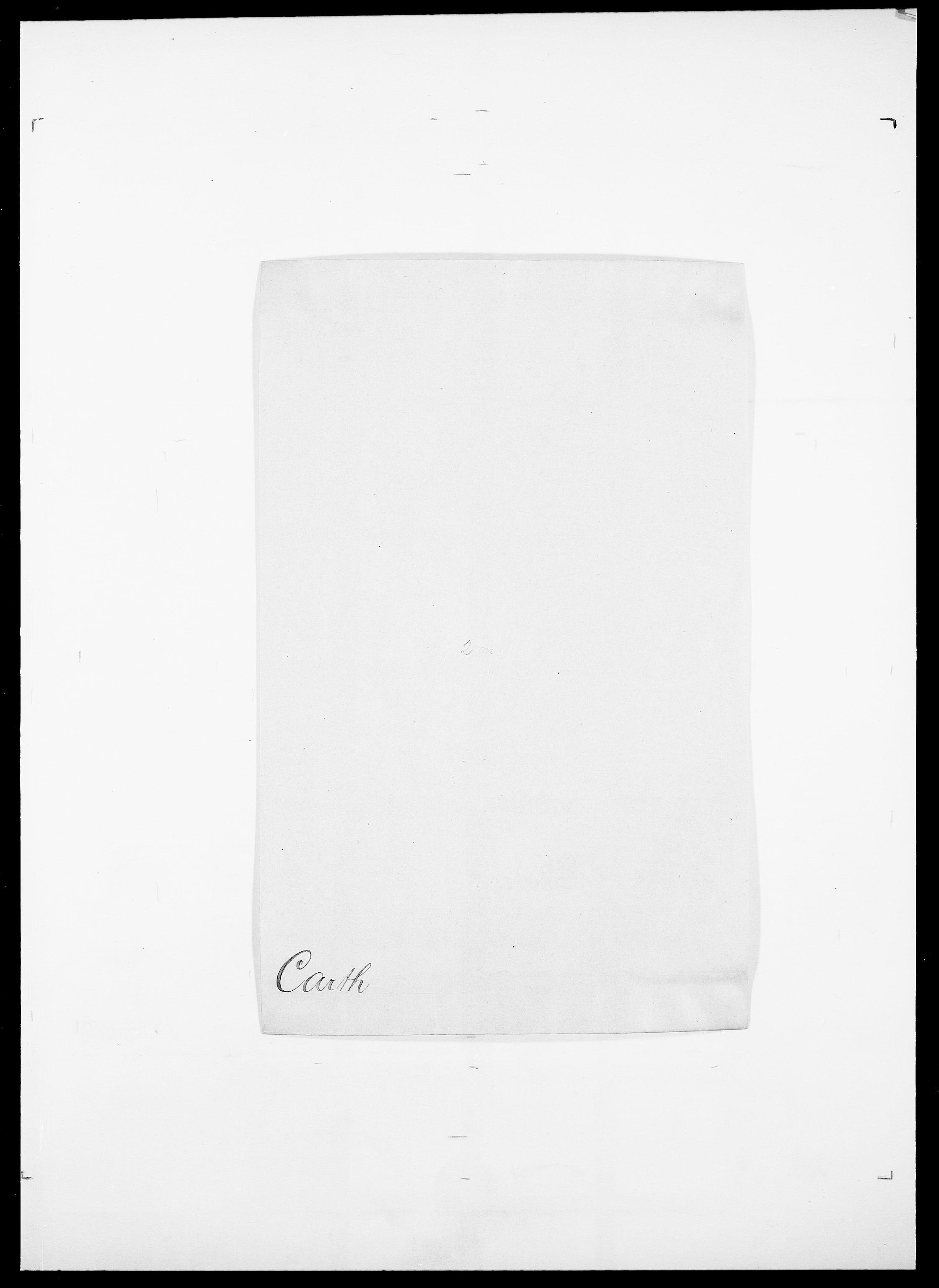 SAO, Delgobe, Charles Antoine - samling, D/Da/L0008: Capjon - Dagenbolt, s. 103