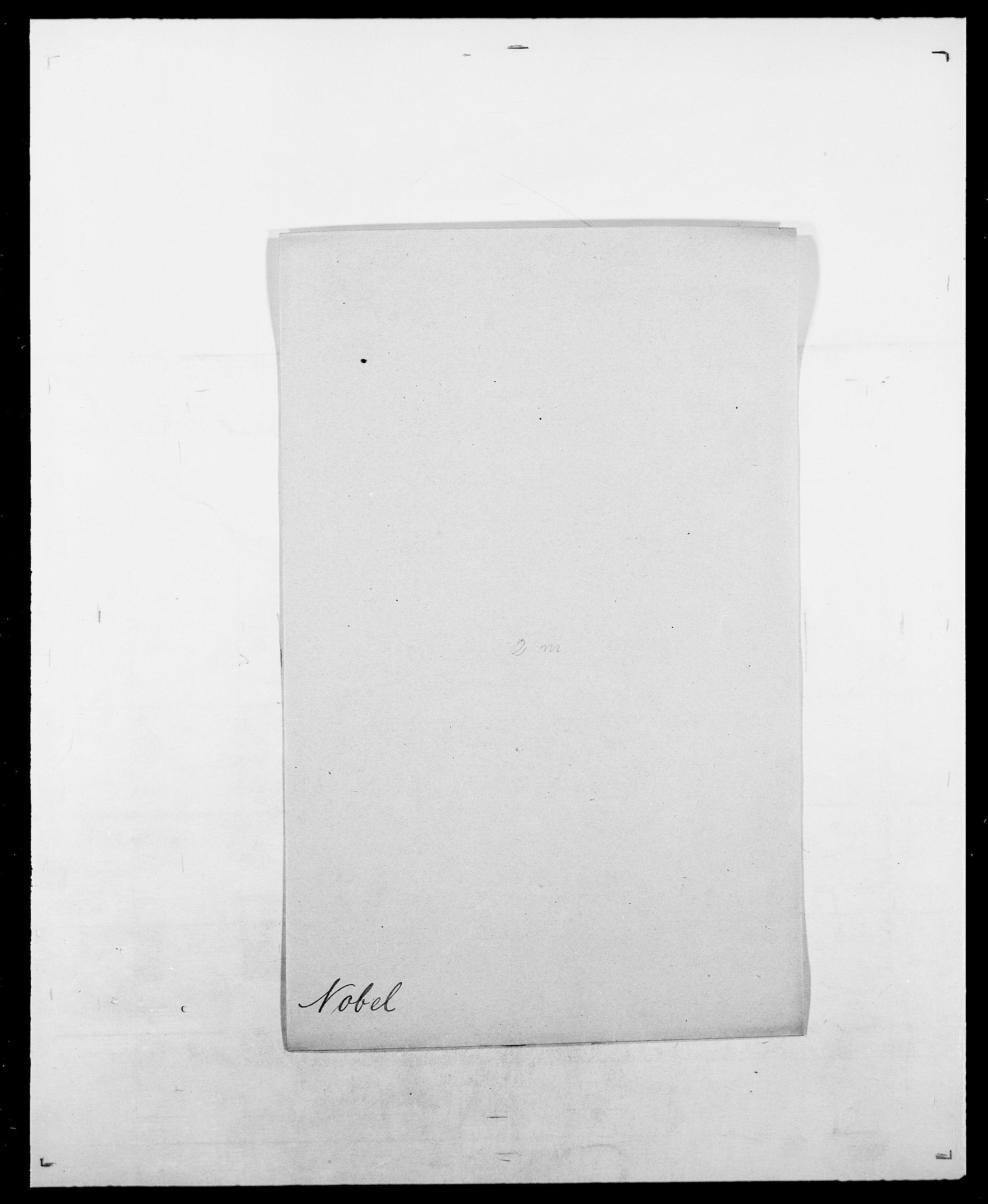 SAO, Delgobe, Charles Antoine - samling, D/Da/L0028: Naaden - Nøvik, s. 379