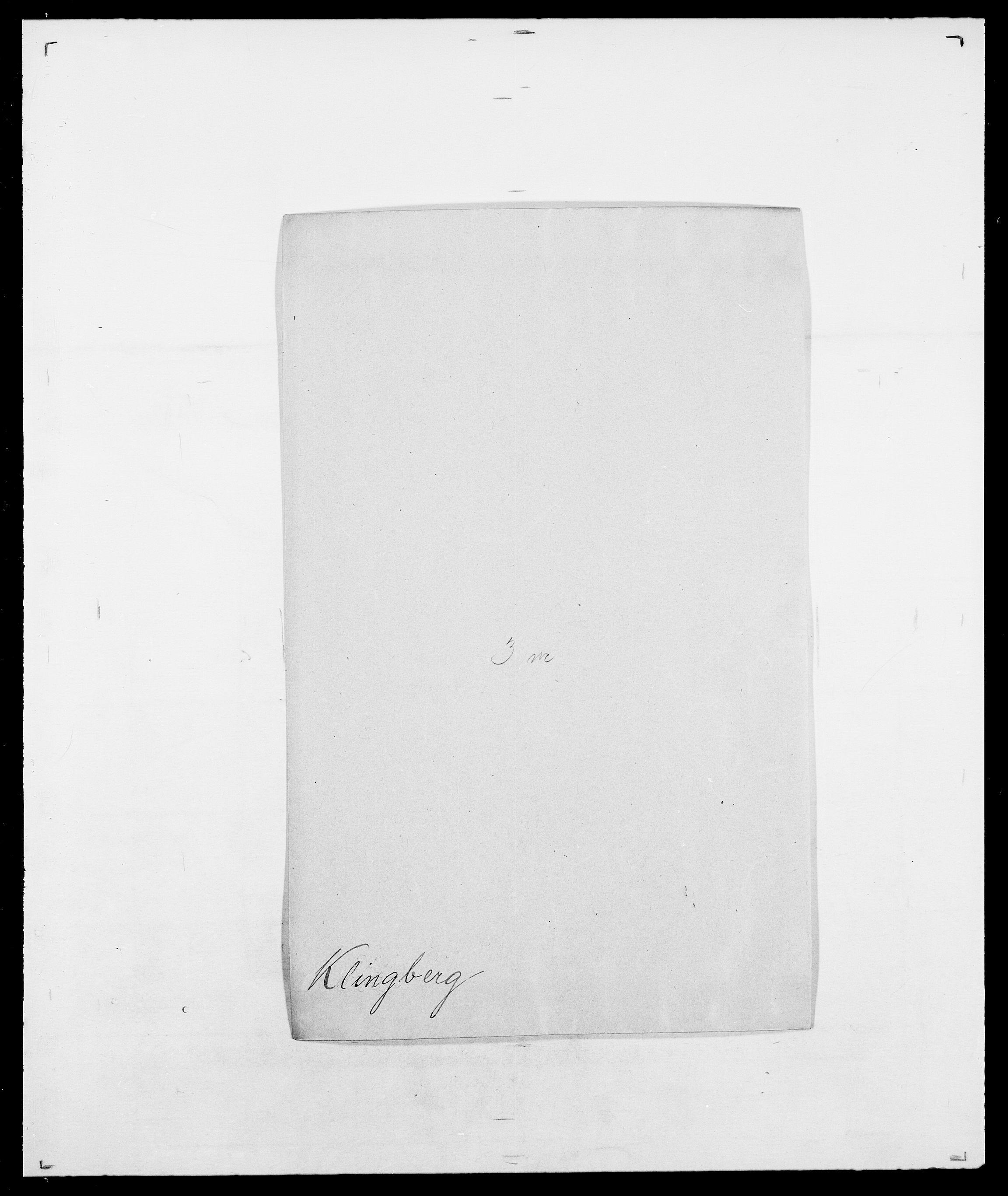 SAO, Delgobe, Charles Antoine - samling, D/Da/L0021: Klagenberg - Kristoft, s. 81