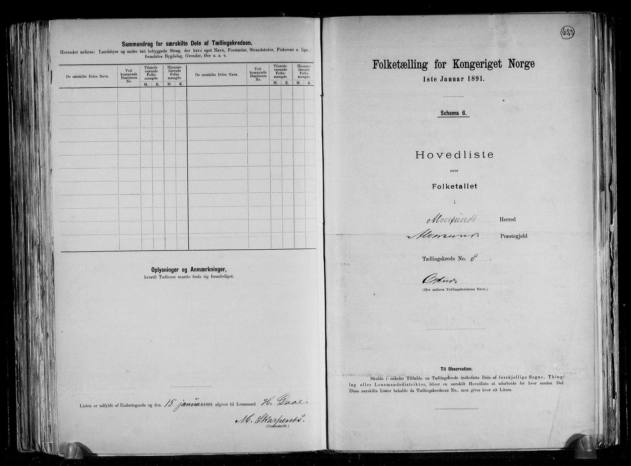 RA, Folketelling 1891 for 1257 Alversund herred, 1891, s. 20