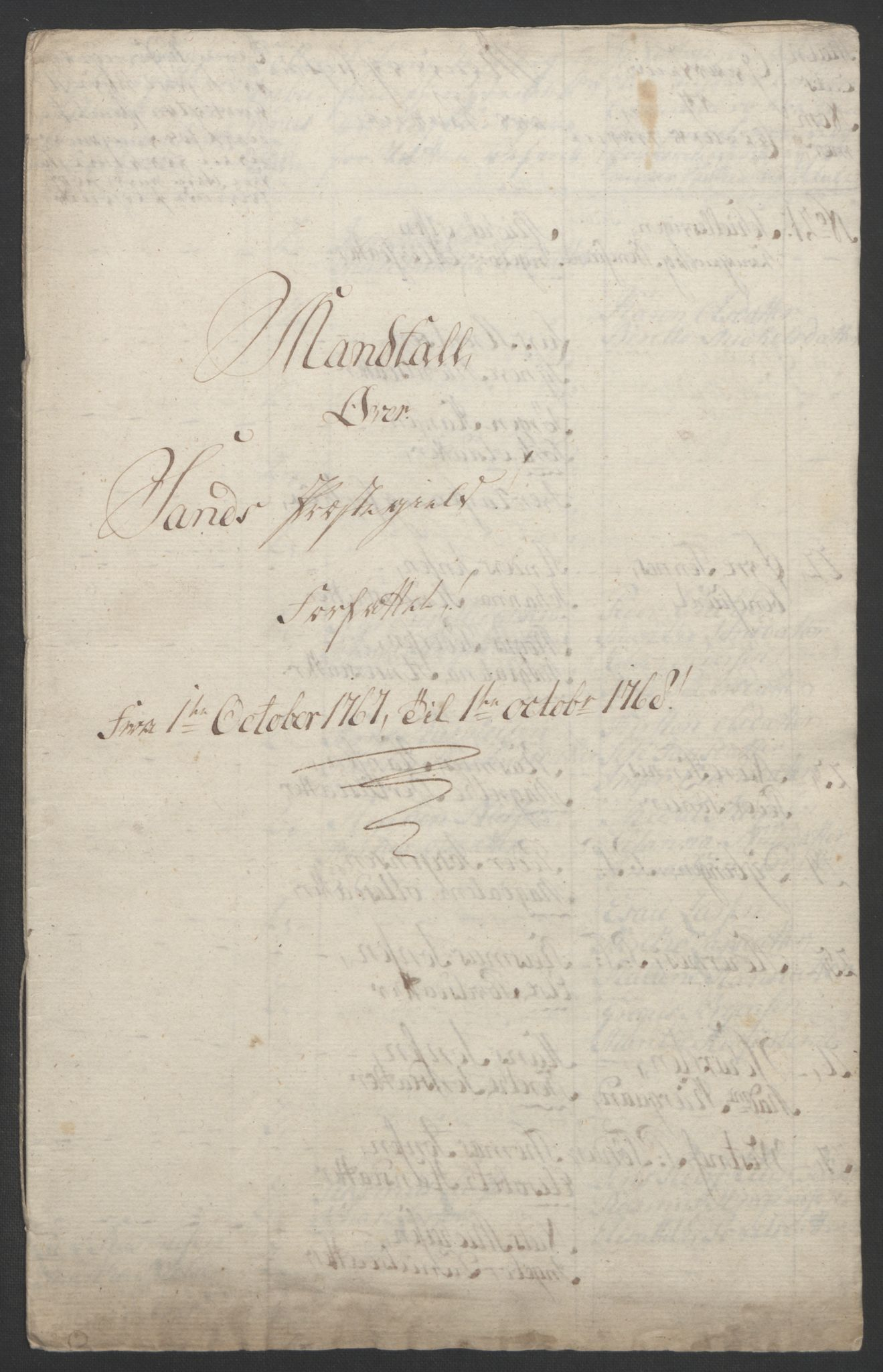 RA, Rentekammeret inntil 1814, Realistisk ordnet avdeling, Ol/L0022b: [Gg 10]: Ekstraskatten, 23.09.1762. Senja og Troms, 1765-1768, s. 244