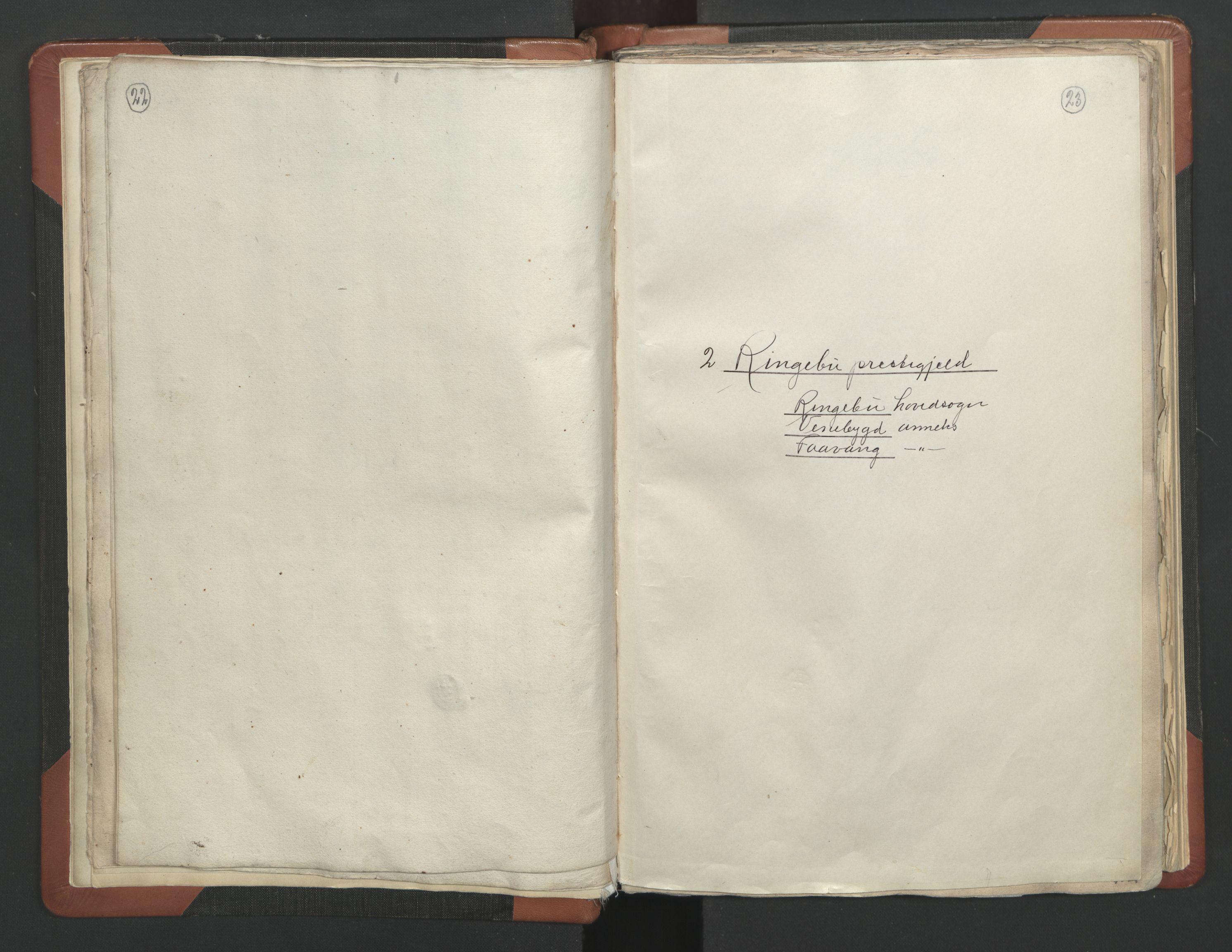 RA, Sogneprestenes manntall 1664-1666, nr. 6: Gudbrandsdal prosti, 1664-1666, s. 22-23