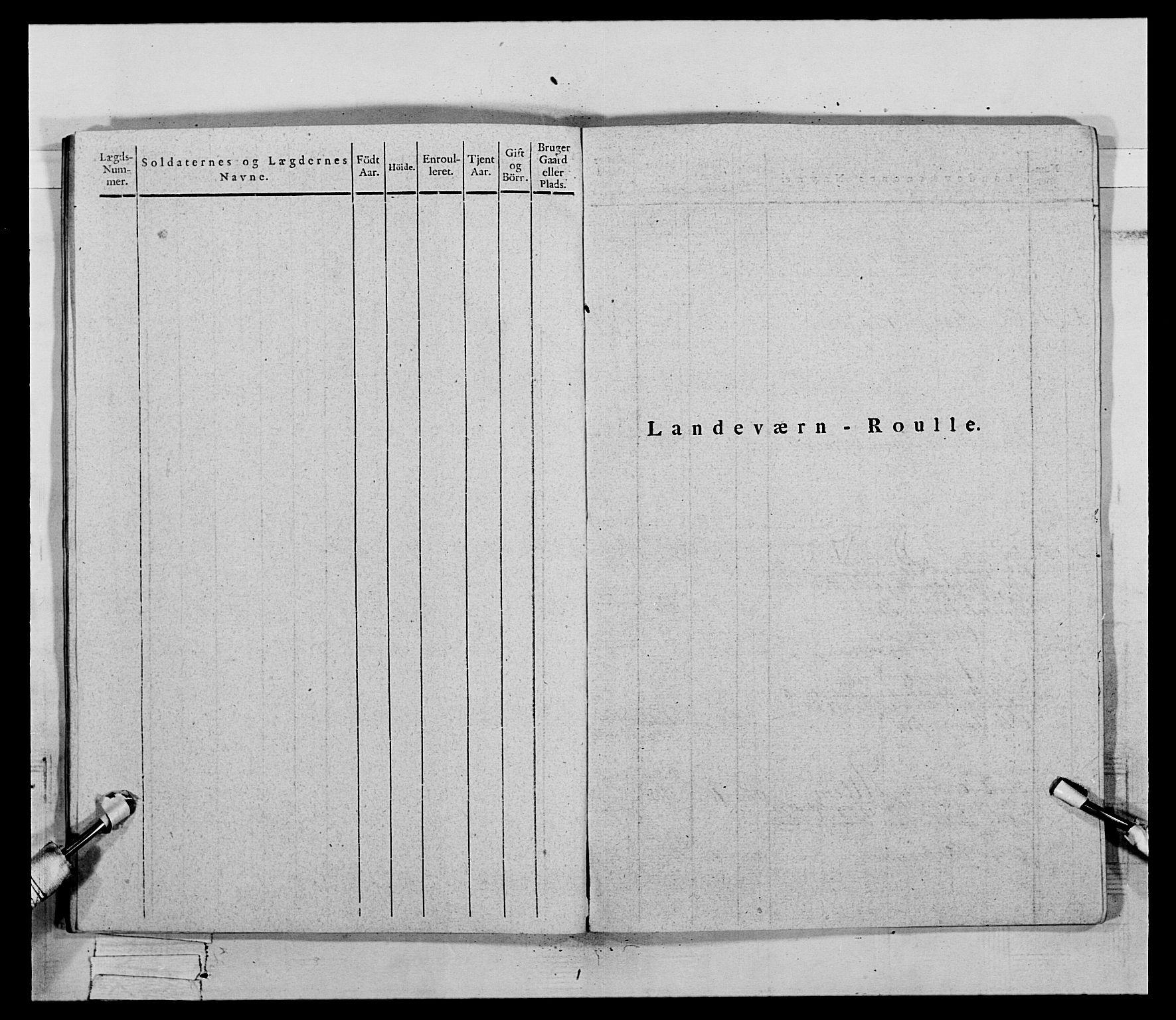 RA, Generalitets- og kommissariatskollegiet, Det kongelige norske kommissariatskollegium, E/Eh/L0069: Opplandske gevorbne infanteriregiment, 1810-1818, s. 448