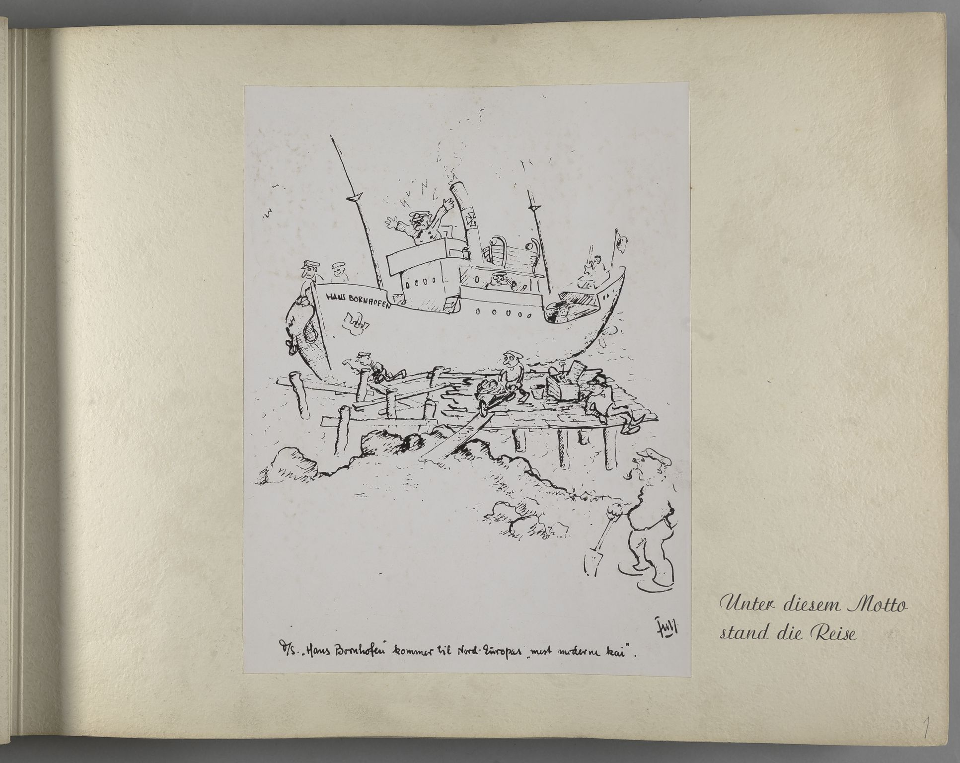 RA, Tyske arkiver, Reichskommissariat, Bildarchiv, U/L0071: Fotoalbum: Mit dem Reichskommissar nach Nordnorwegen und Finnland 10. bis 27. Juli 1942, 1942, s. 12