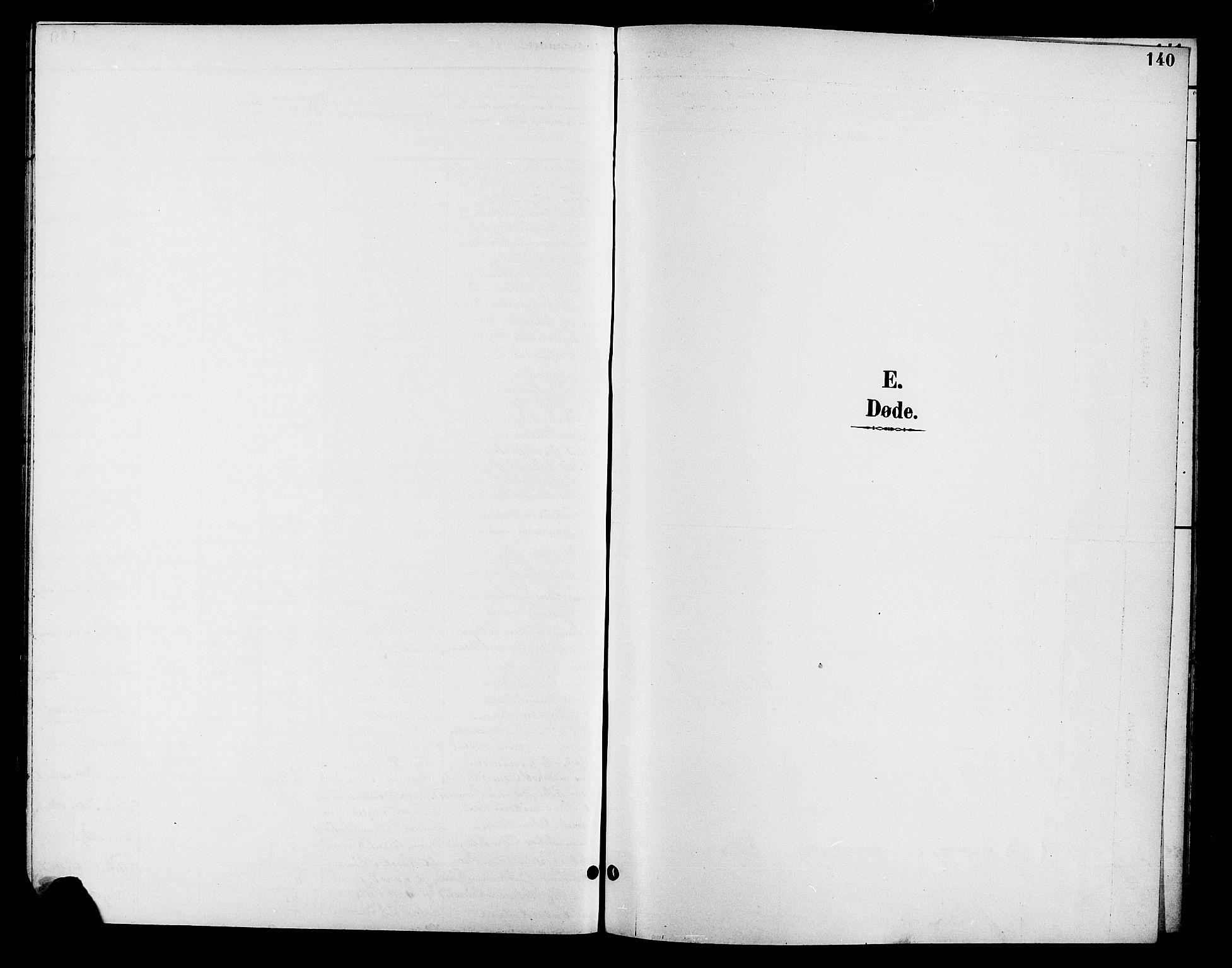 SAH, Fåberg prestekontor, Klokkerbok nr. 8, 1891-1900, s. 140
