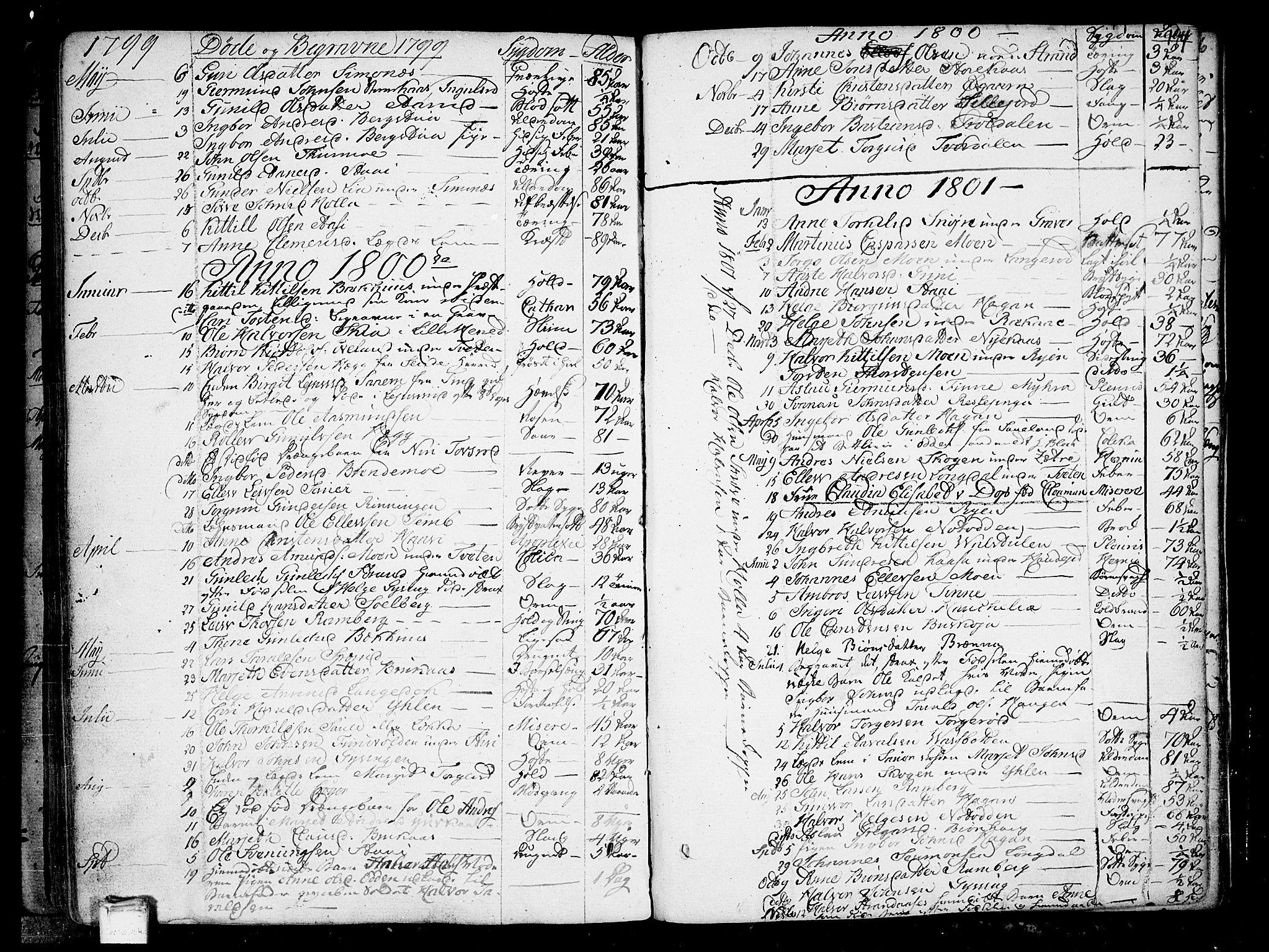 SAKO, Heddal kirkebøker, F/Fa/L0004: Ministerialbok nr. I 4, 1784-1814, s. 194