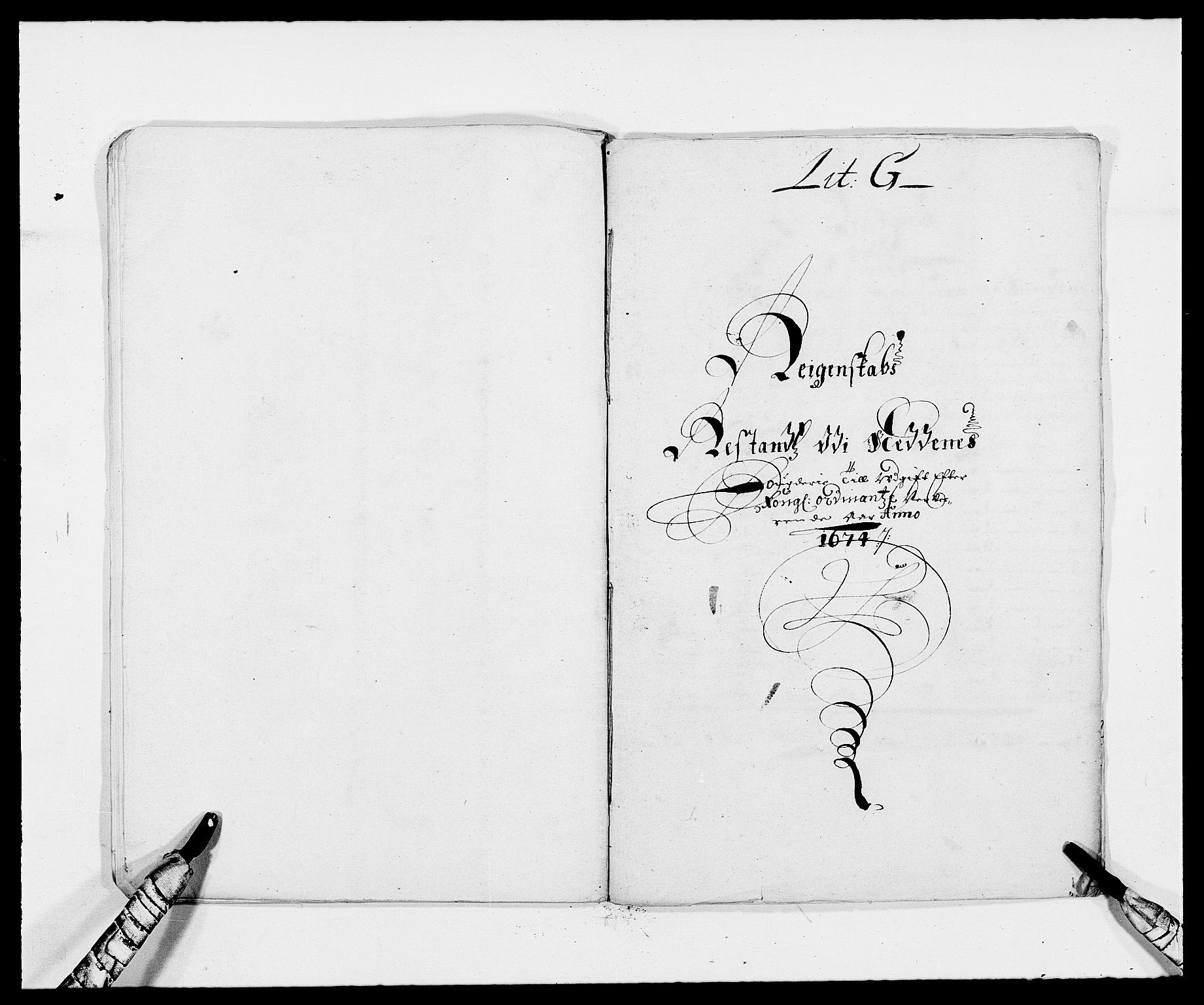 RA, Rentekammeret inntil 1814, Reviderte regnskaper, Fogderegnskap, R39/L2300: Fogderegnskap Nedenes, 1672-1674, s. 417