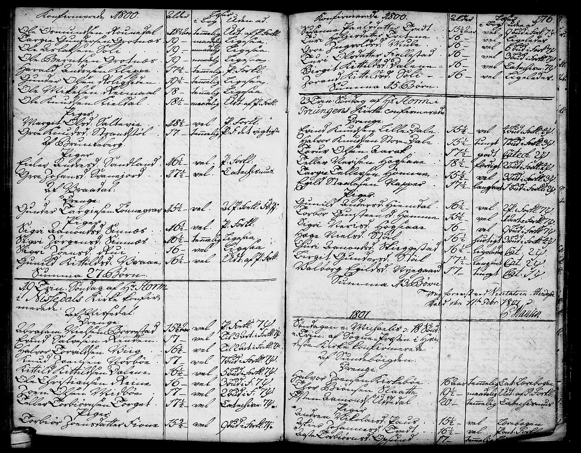 SAKO, Kviteseid kirkebøker, F/Fa/L0004: Ministerialbok nr. I 4, 1800-1814, s. 176