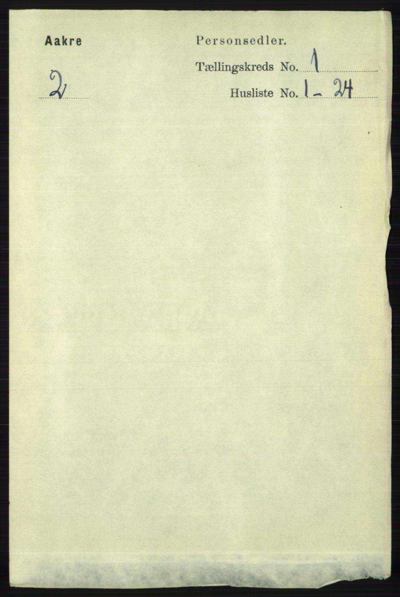 RA, Folketelling 1891 for 1150 Skudenes herred, 1891, s. 3391