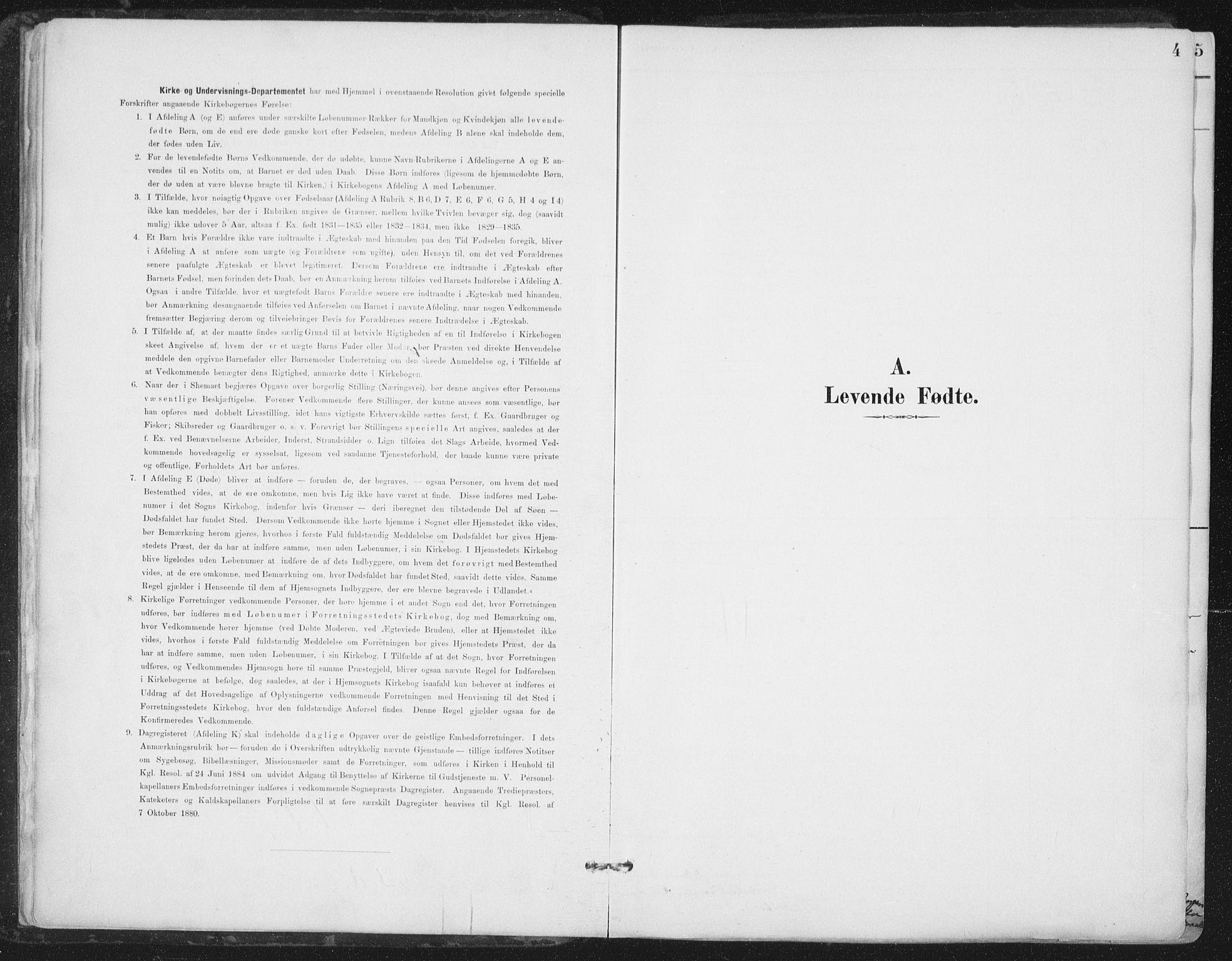 SAT, Ministerialprotokoller, klokkerbøker og fødselsregistre - Nord-Trøndelag, 786/L0687: Ministerialbok nr. 786A03, 1888-1898, s. 4