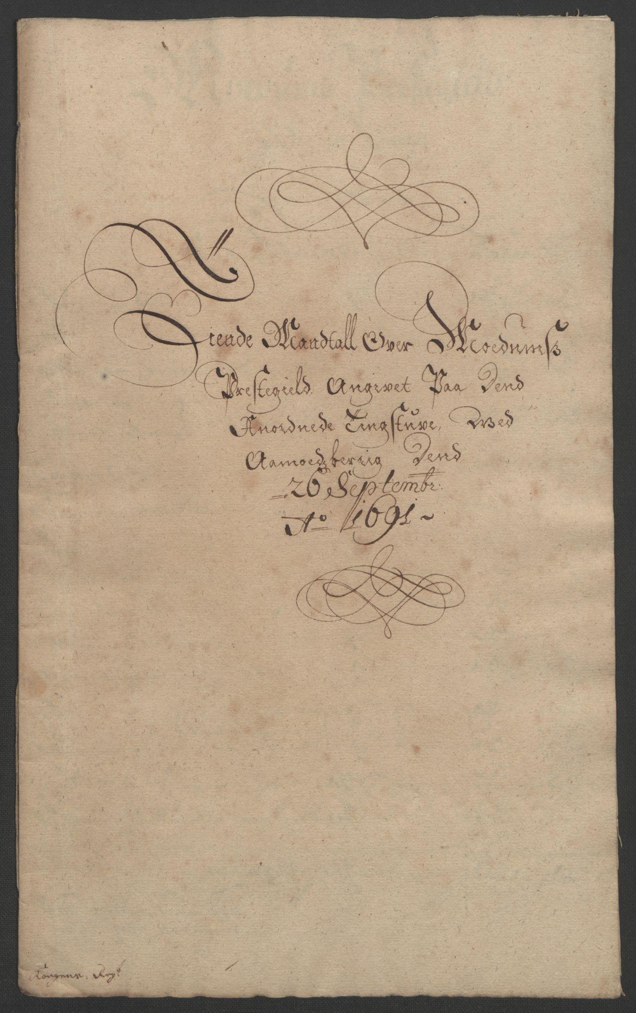 RA, Rentekammeret inntil 1814, Reviderte regnskaper, Fogderegnskap, R25/L1681: Fogderegnskap Buskerud, 1691-1692, s. 37