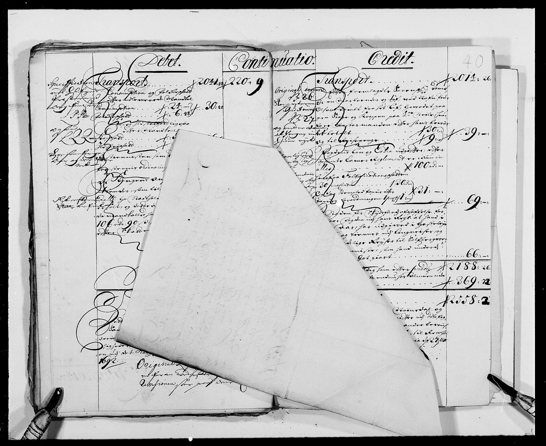 RA, Rentekammeret inntil 1814, Reviderte regnskaper, Fogderegnskap, R24/L1573: Fogderegnskap Numedal og Sandsvær, 1687-1691, s. 265