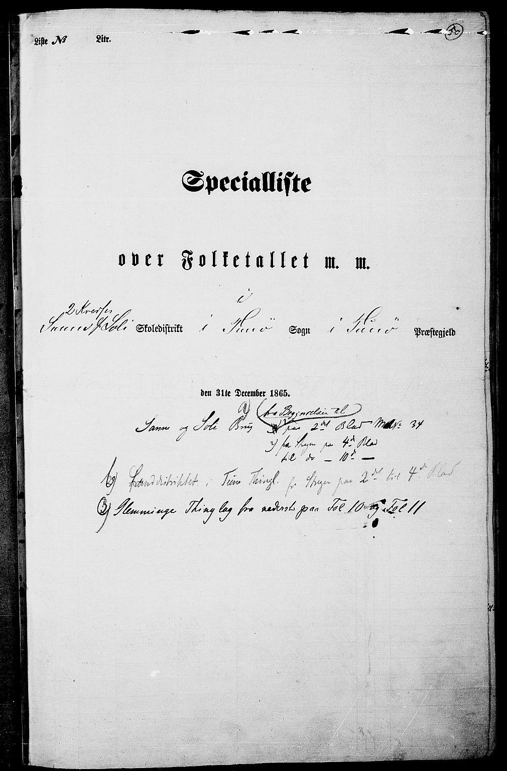 RA, Folketelling 1865 for 0130P Tune prestegjeld, 1865, s. 46
