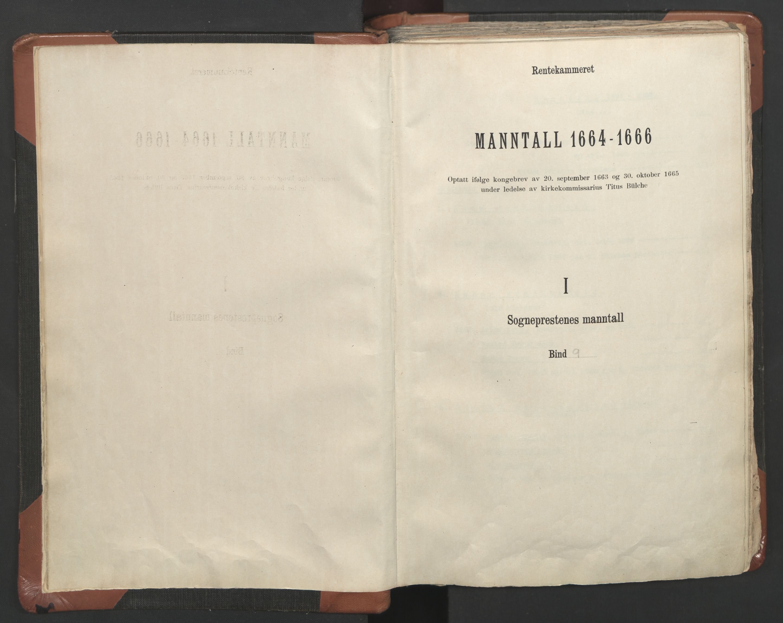 RA, Sogneprestenes manntall 1664-1666, nr. 9: Bragernes prosti, 1664-1666, s. upaginert
