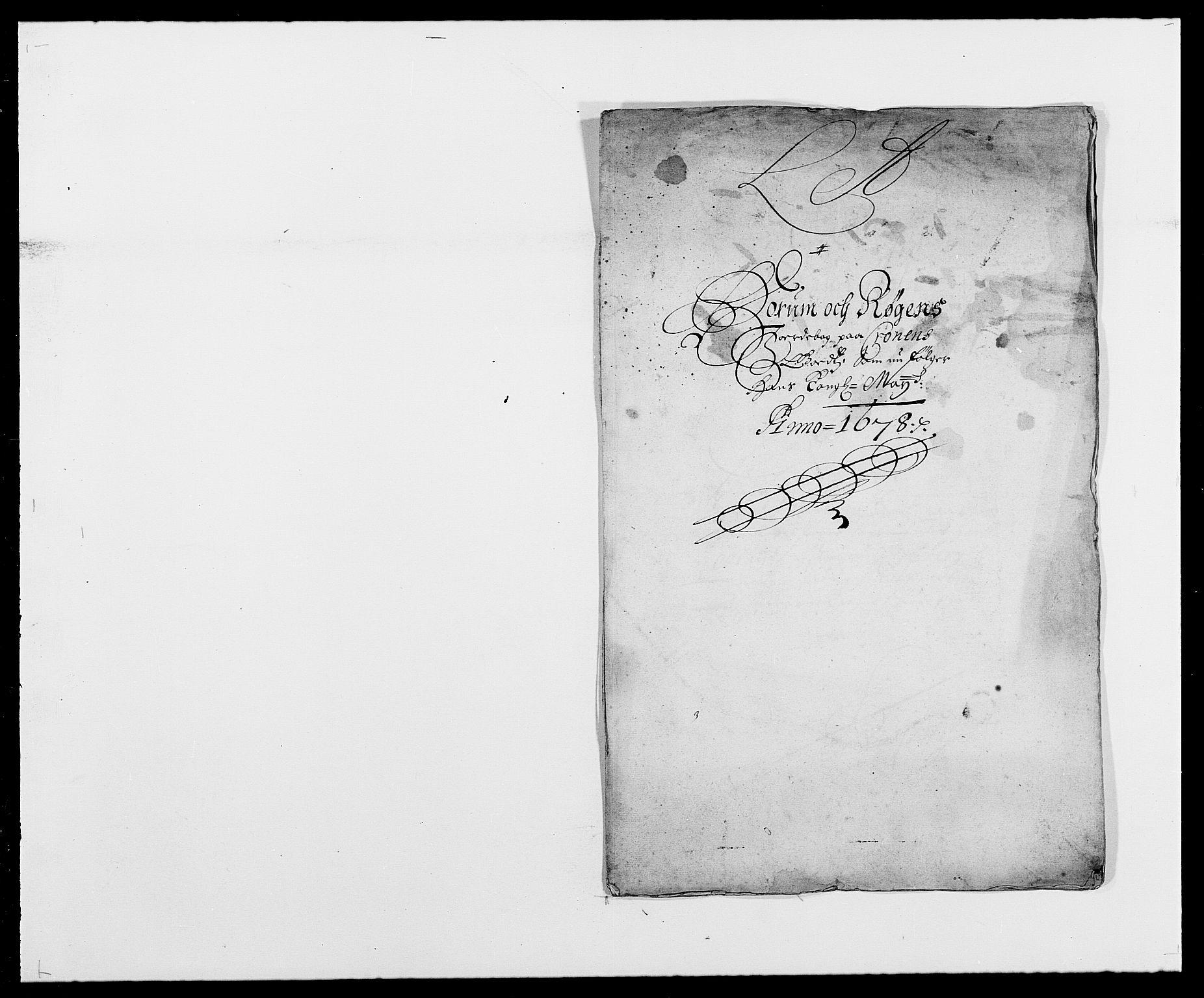 RA, Rentekammeret inntil 1814, Reviderte regnskaper, Fogderegnskap, R29/L1691: Fogderegnskap Hurum og Røyken, 1678-1681, s. 42